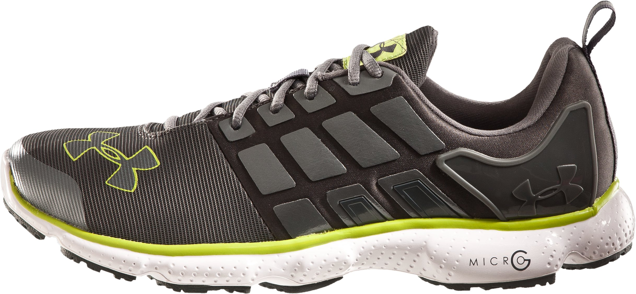 Men's UA Micro G® Split Running Shoes, Graphite