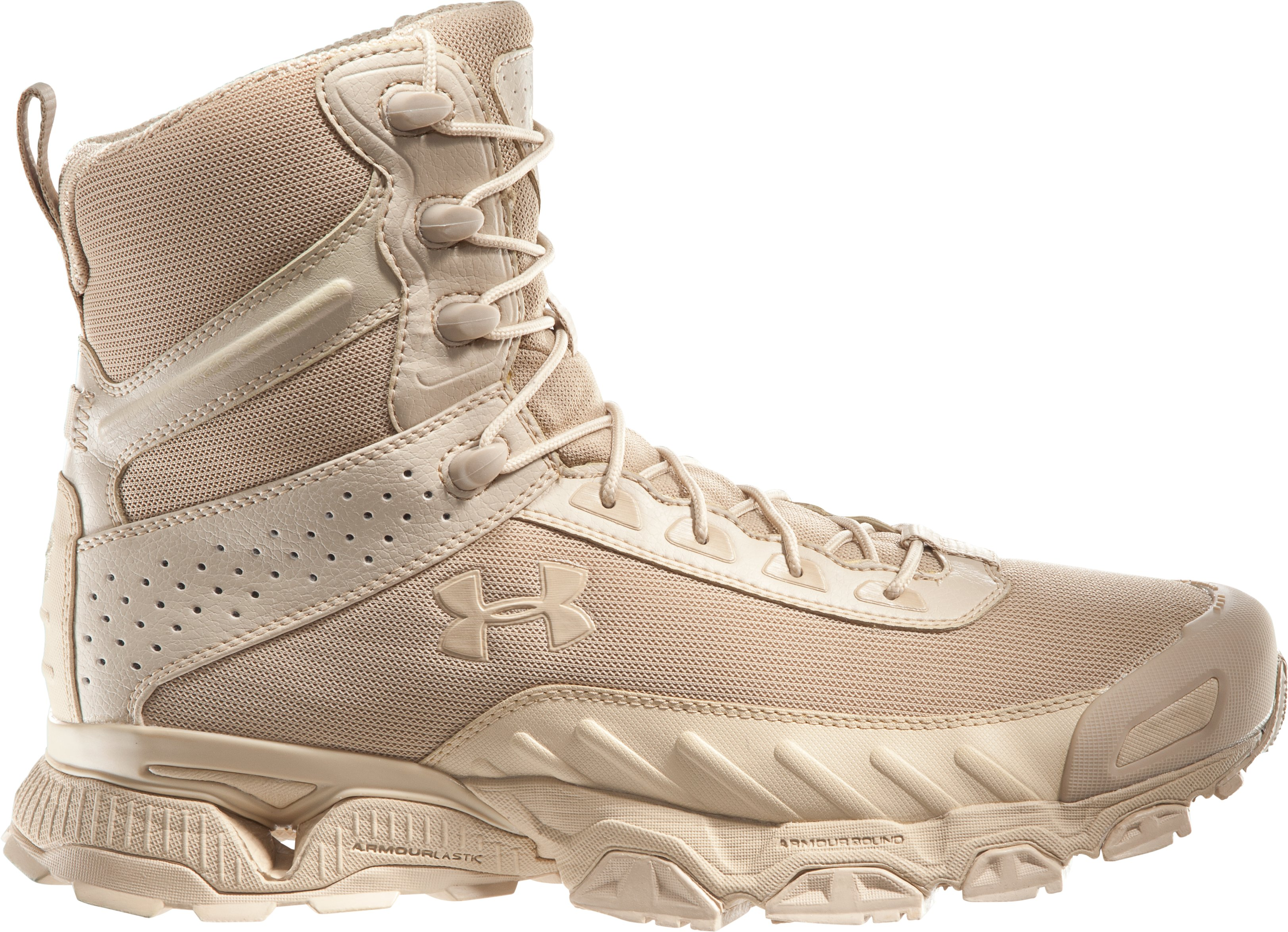 "Men's UA Valsetz 7"" Tactical Boots, Desert Sand, zoomed image"