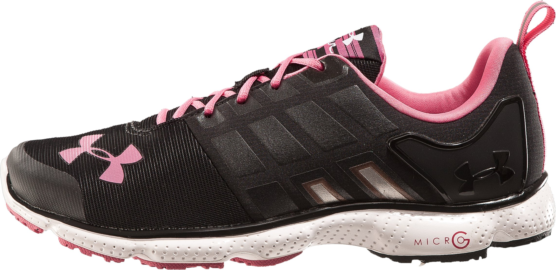 Women's UA Micro G® Split Running Shoes, Black