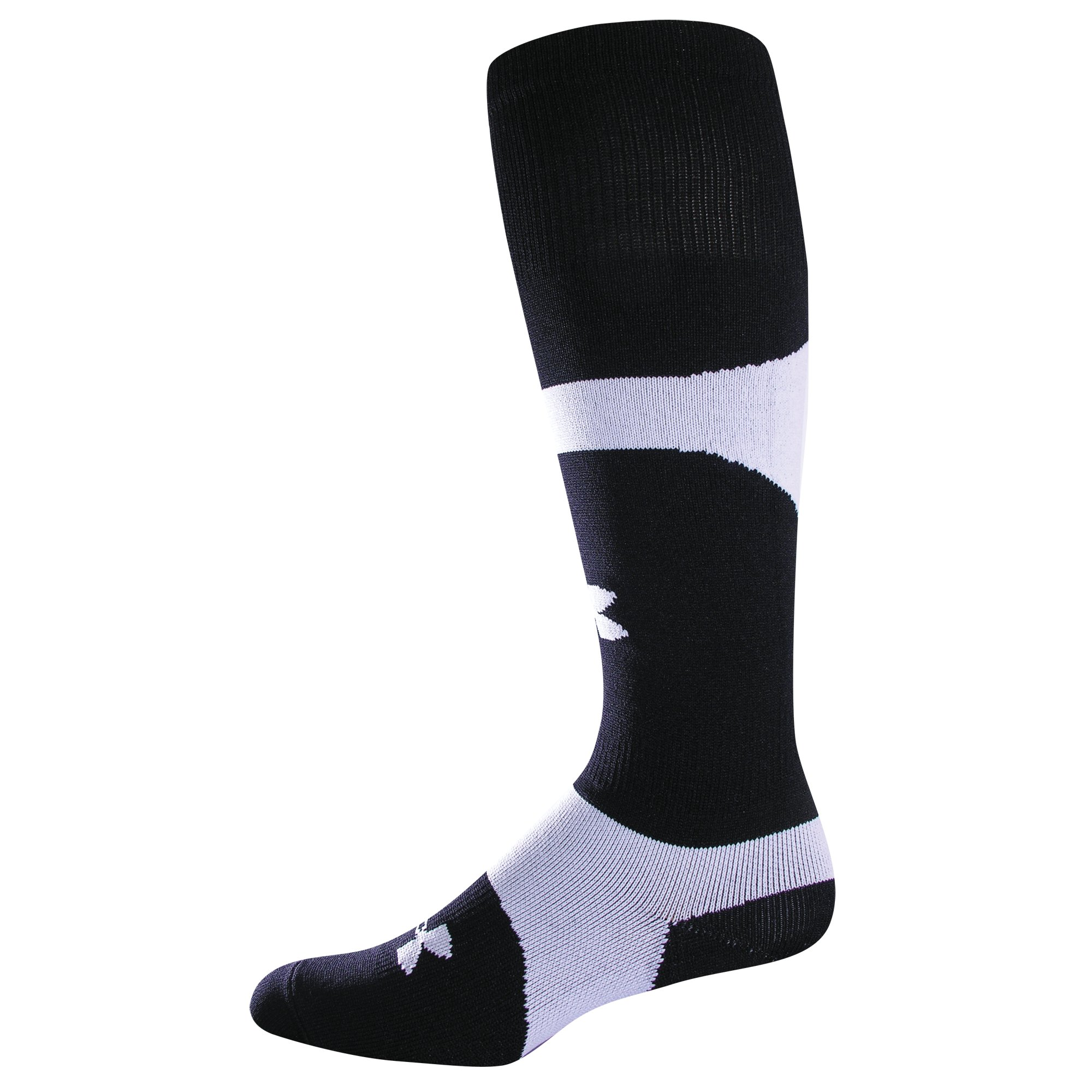 UA Dominate OTC Soccer Socks, Black