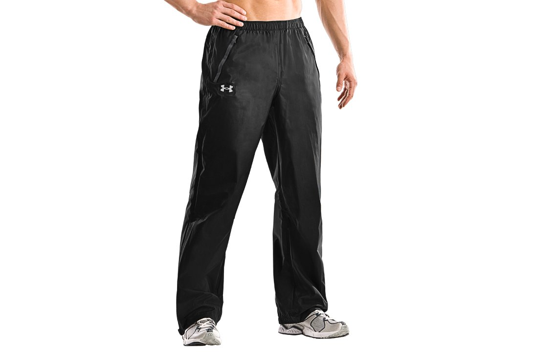 Men's UA Team Barragie Pants, Black , zoomed image