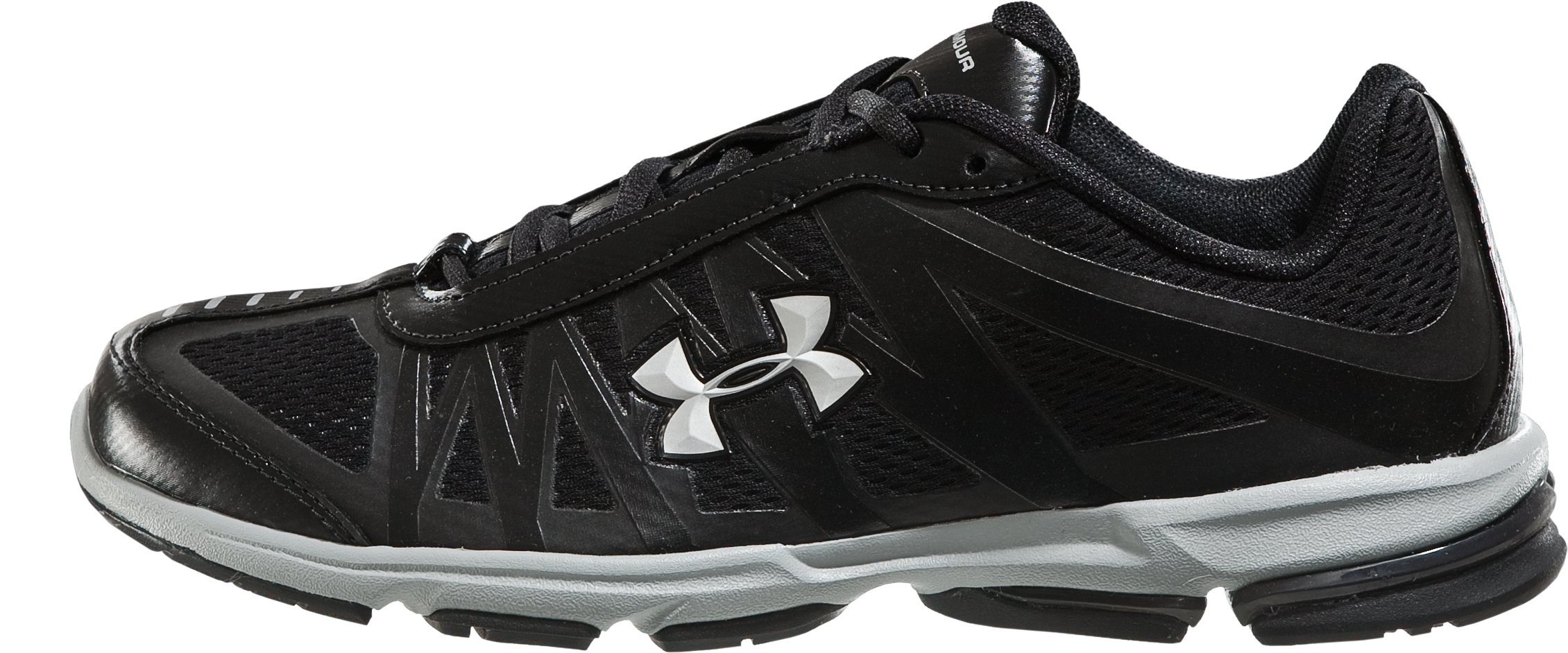 Boys' UA Command Grade School Running Shoes, Black , zoomed image