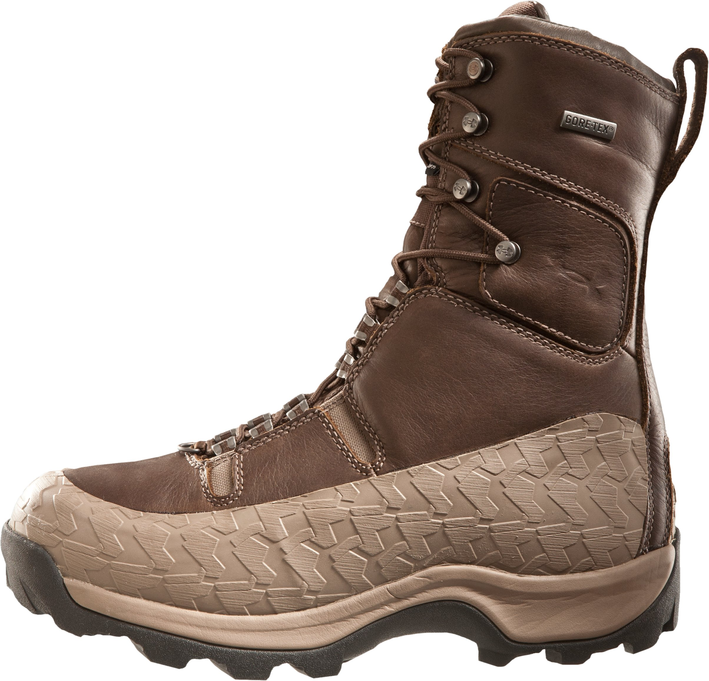 "Men's UA Siberia 10"" Hunting Boots, Timber, zoomed image"
