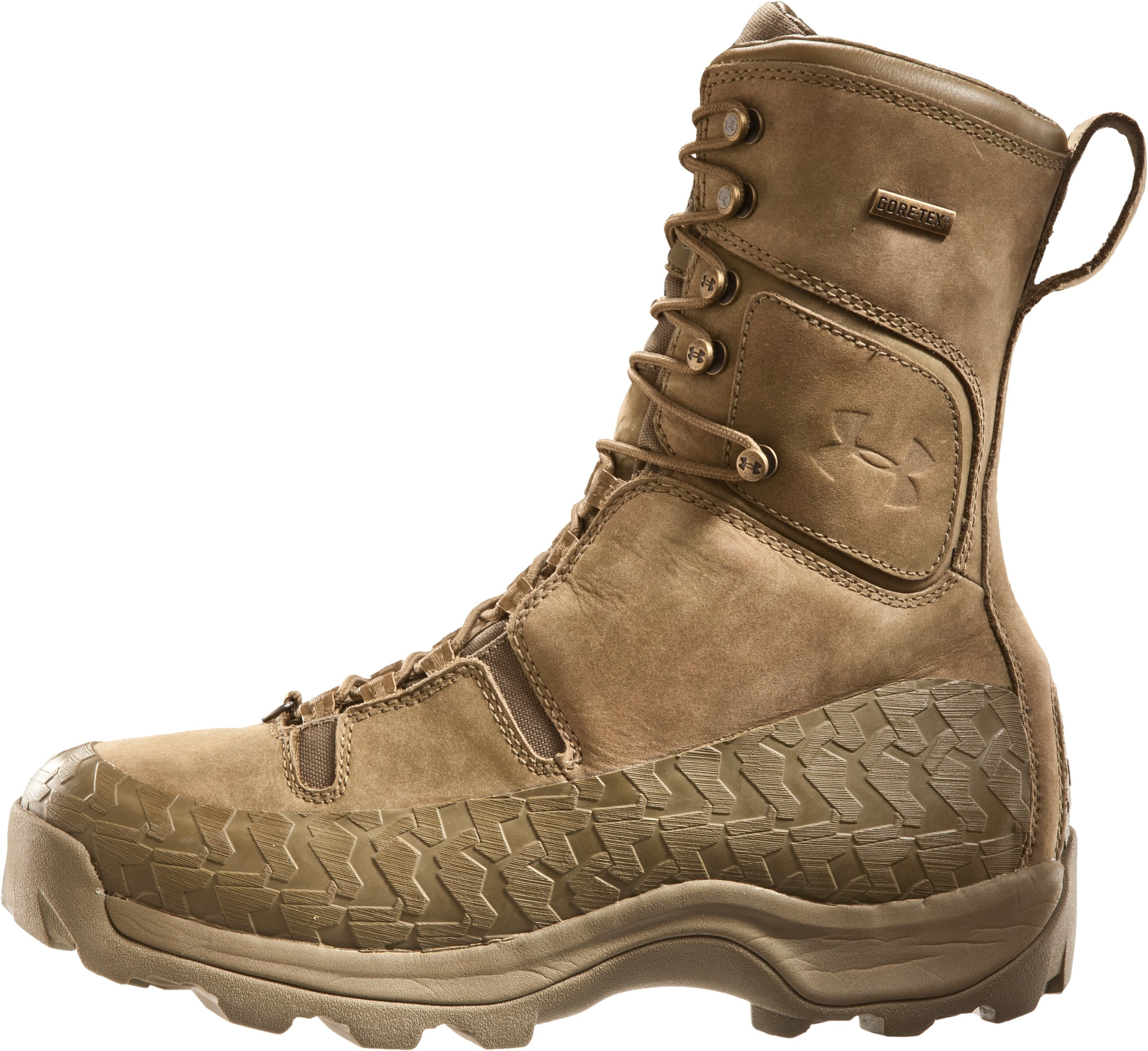 "Men's UA Siberia 10"" Hunting Boots, Military Olive, zoomed image"