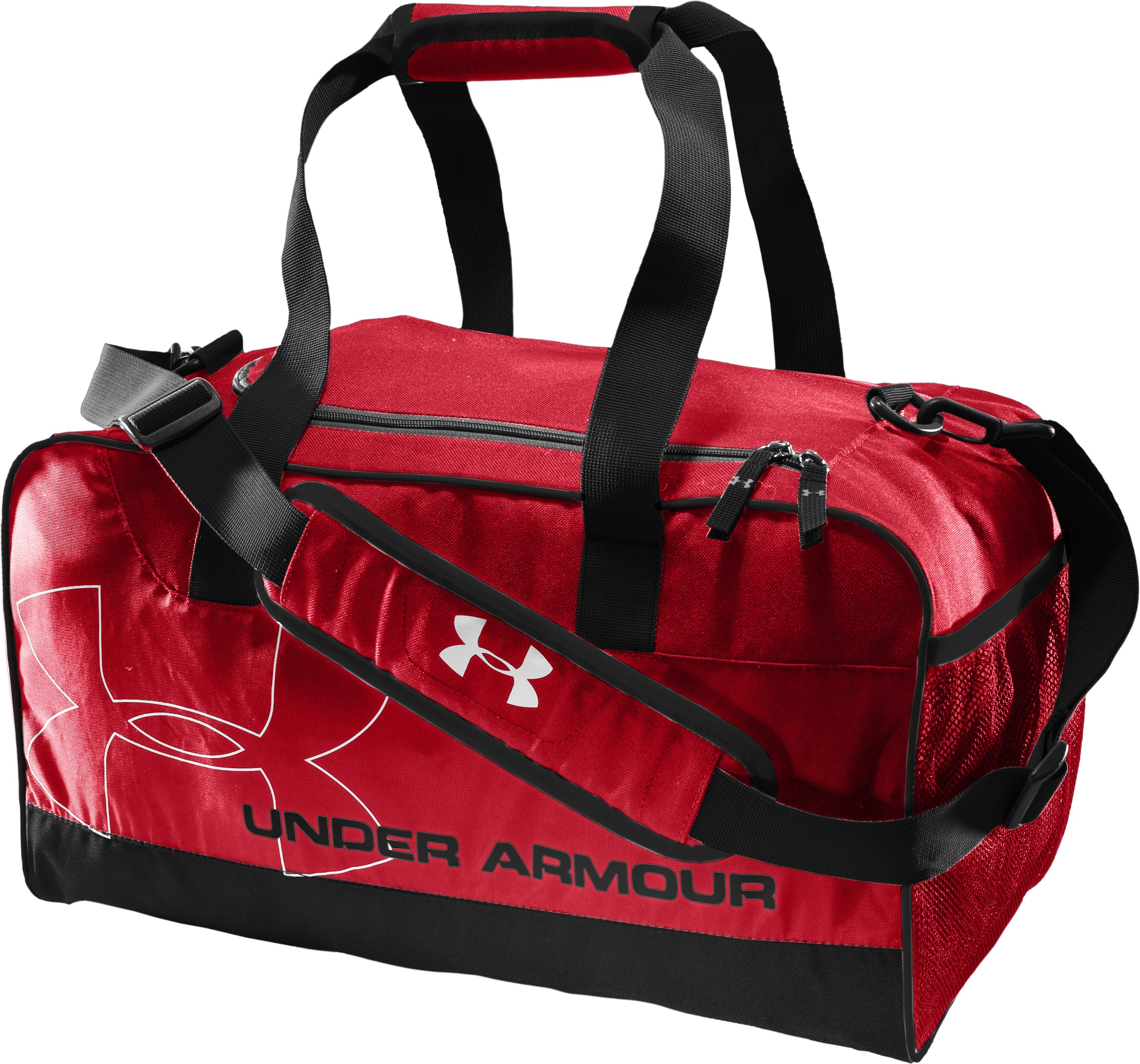 UA Dauntless Small Duffel, Red, zoomed image