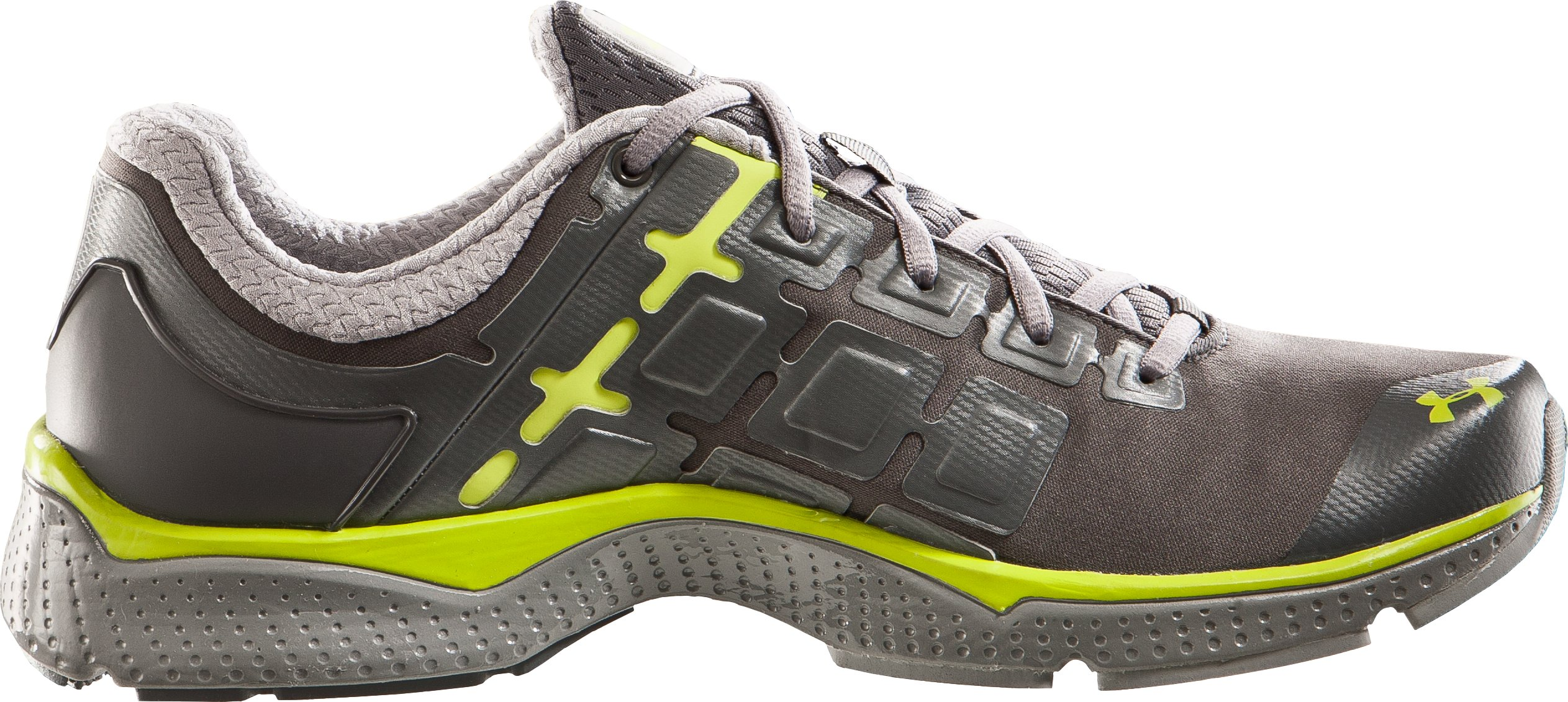 Men's UA Micro G® Split II Running Shoes, Graphite, undefined