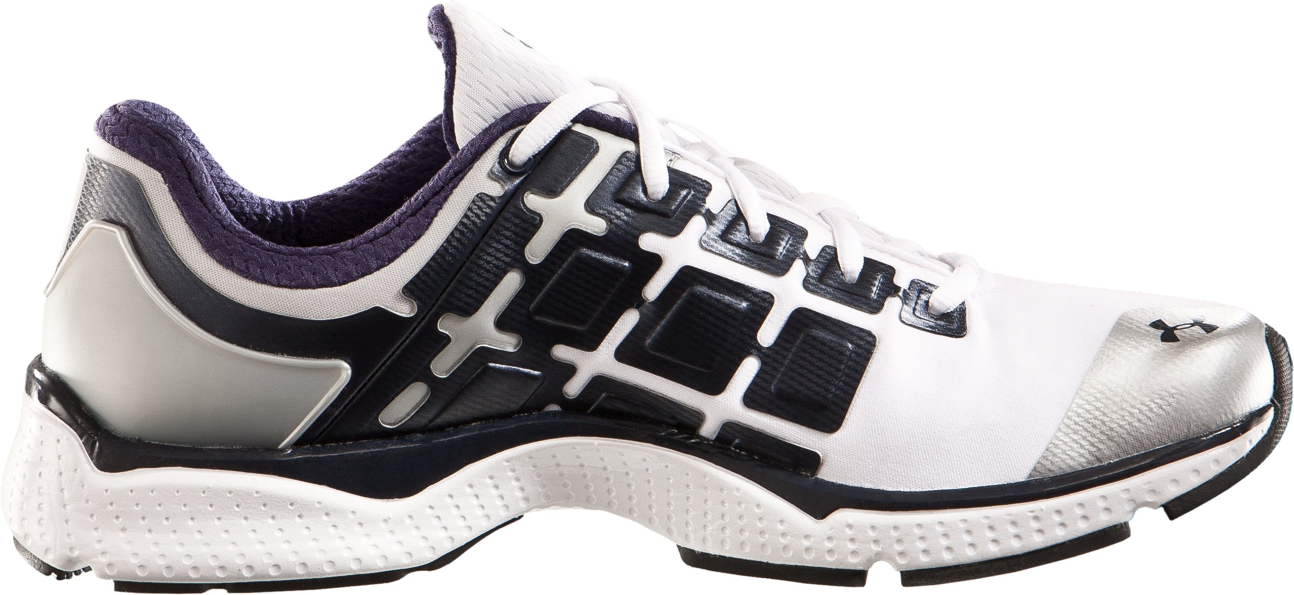 Men's UA Micro G® Split II Running Shoes, White, zoomed image