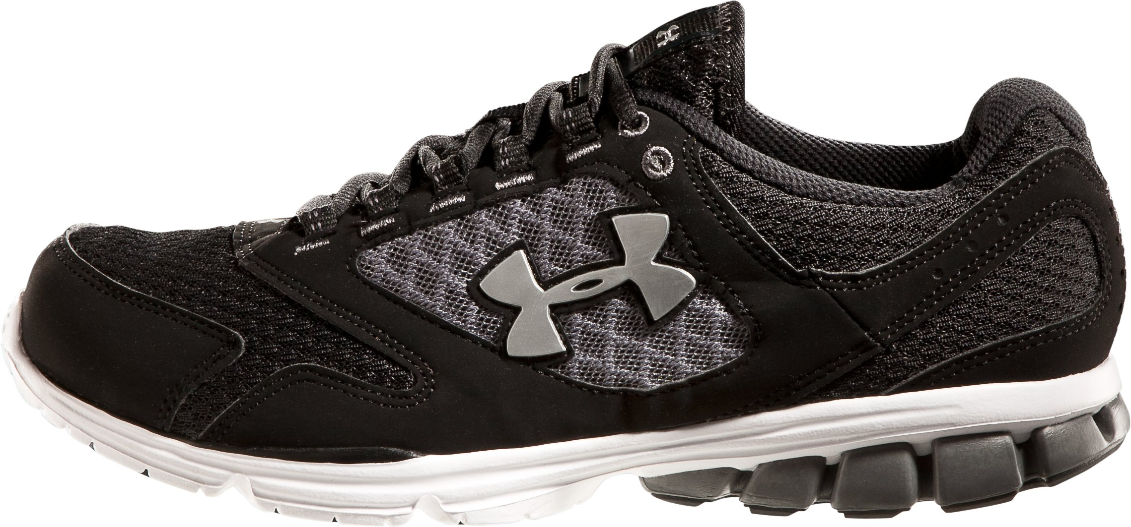 Men's UA Assert II Running Shoes, Black , zoomed image