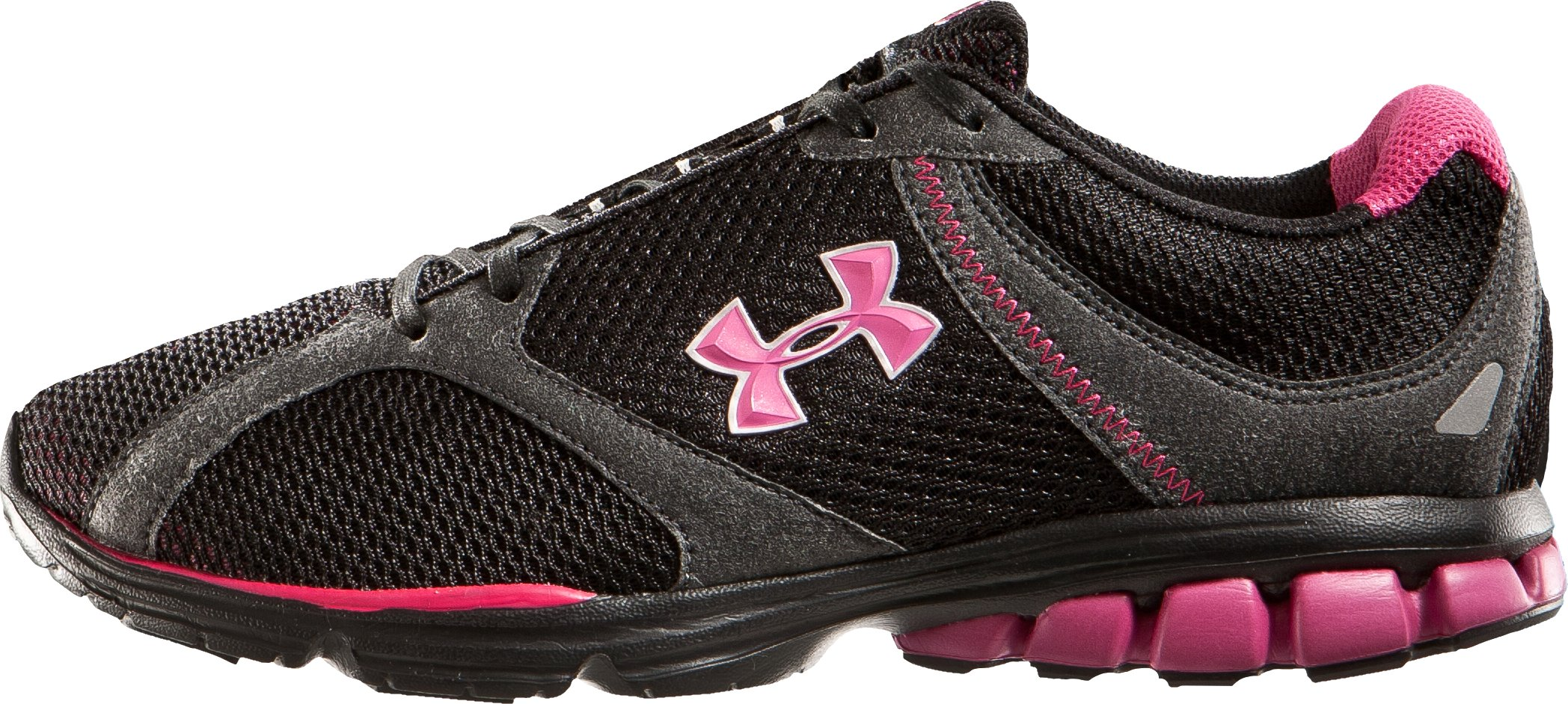 Women's UA Assert Running Shoe, Black , zoomed image