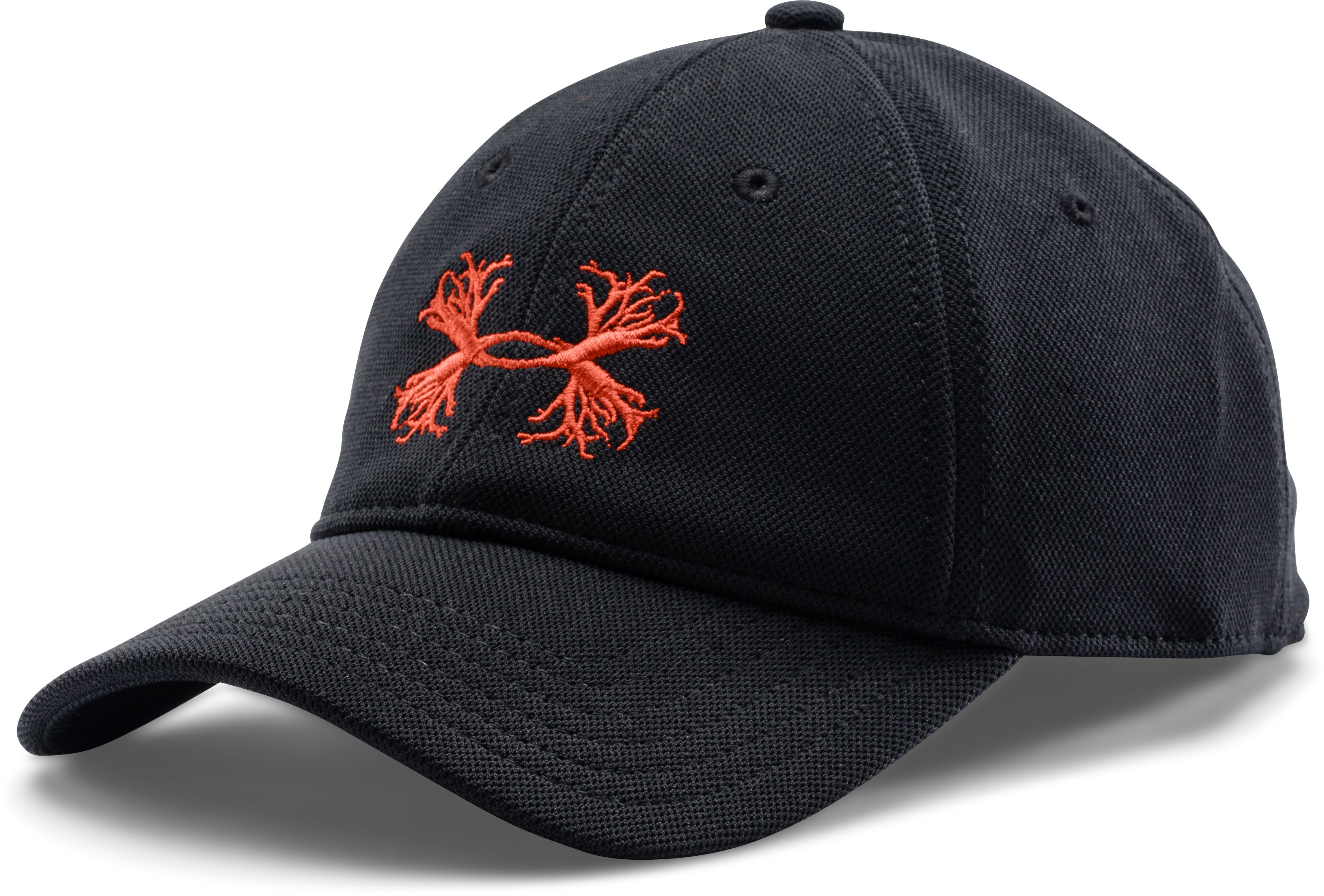 Men's UA Antler Logo Adjustable Cap, Black