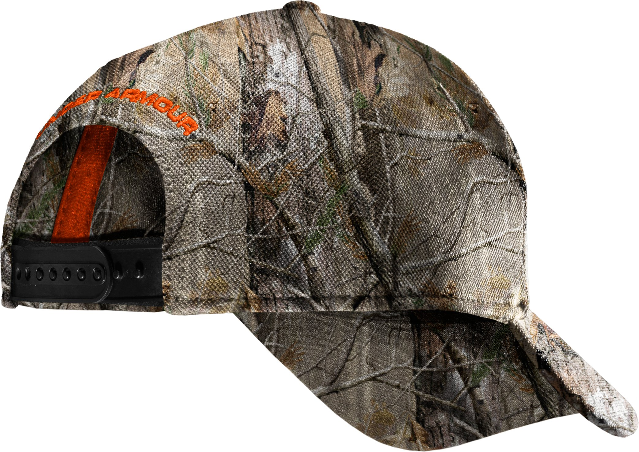 Men's UA Antler Logo Adjustable Cap, Realtree AP, zoomed image