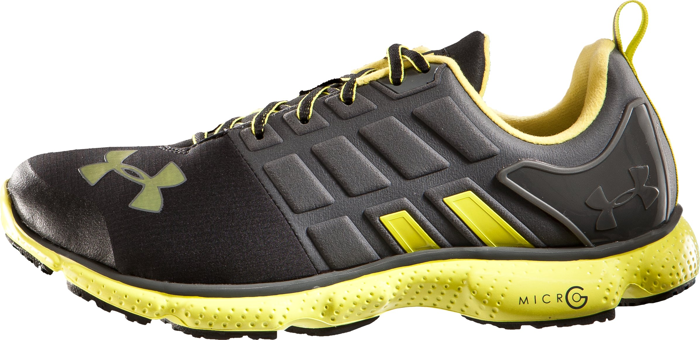 Men's UA Micro G® Split CG Running Shoes, Black