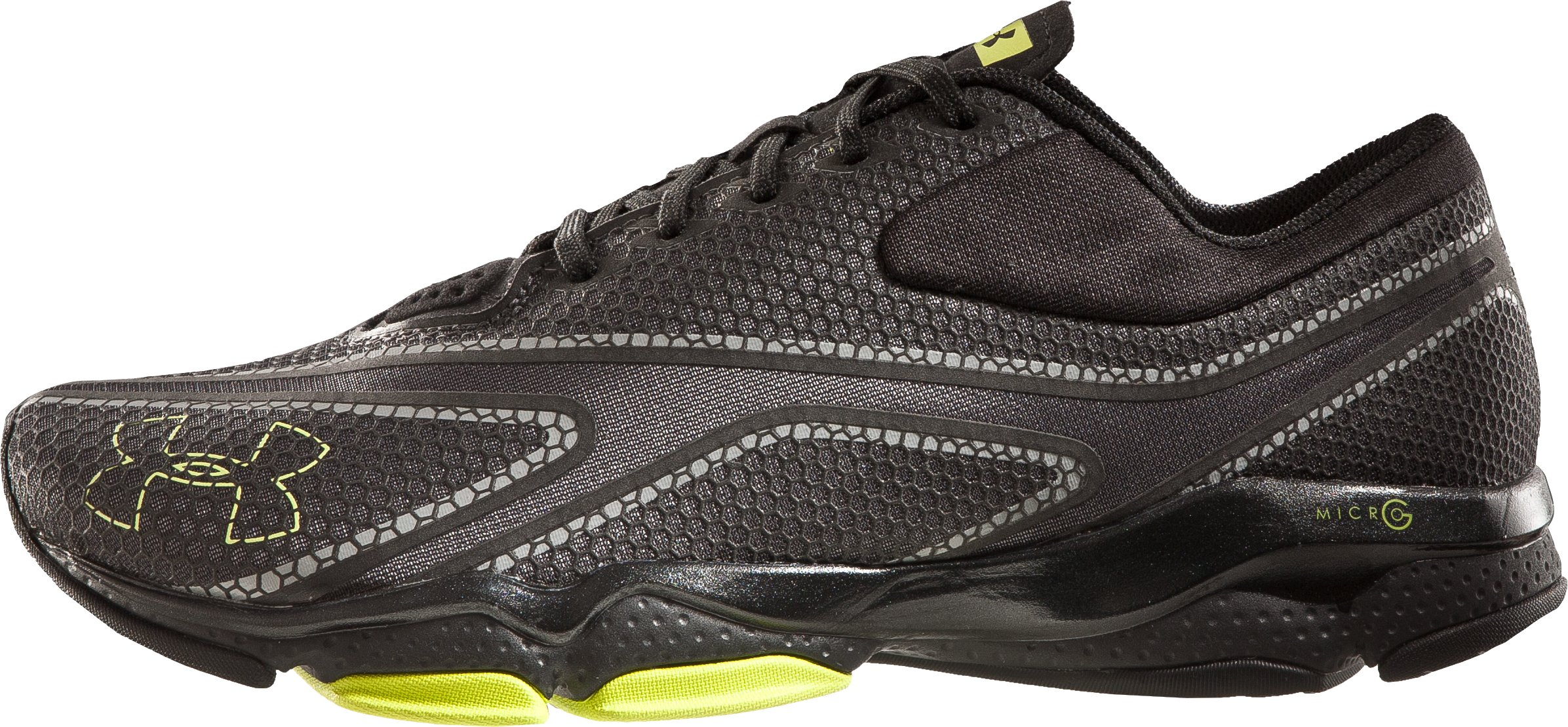 Men's UA Micro G® Composite Training Shoes, Charcoal, zoomed image