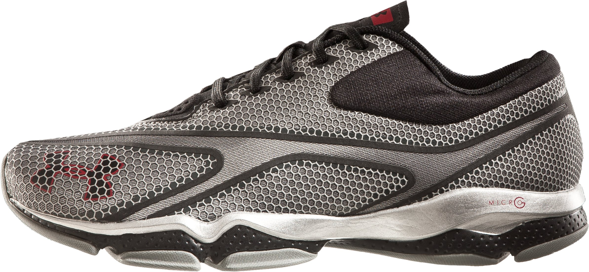 Men's UA Micro G® Composite Training Shoes, Metallic Silver, zoomed image
