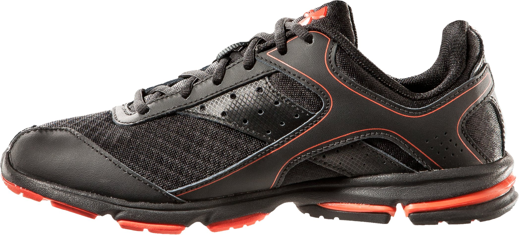 Boys' Armour® Dash Grade School Running Shoes, Black , undefined