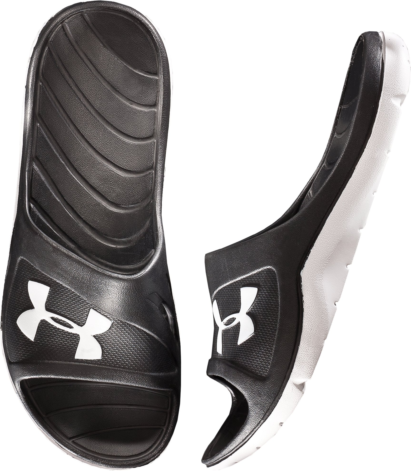 Men's UA Rookie Slides, Black