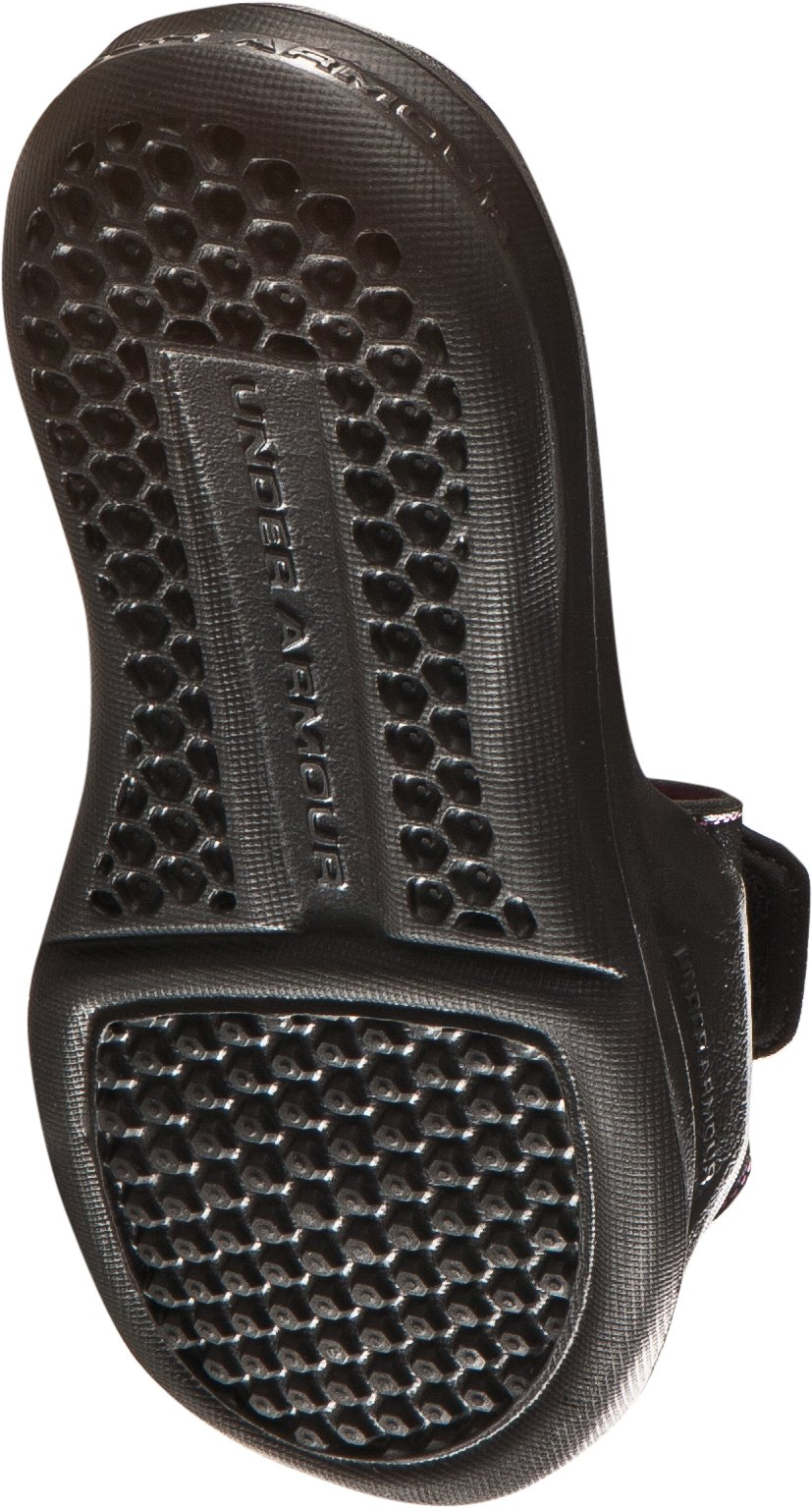 Women's UA Ignite IV Slides, Black