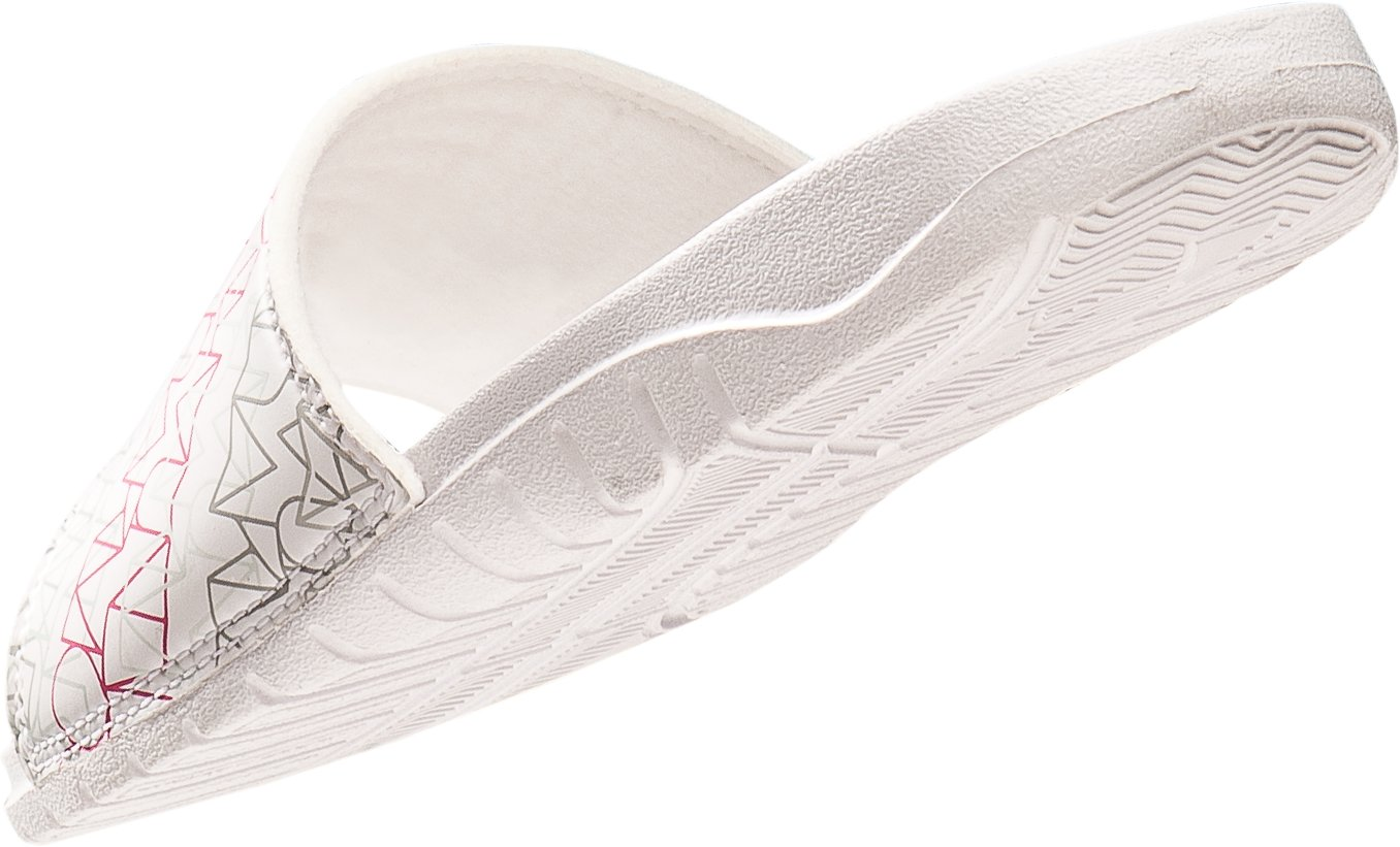 Girls' UA Rally III Slide, White