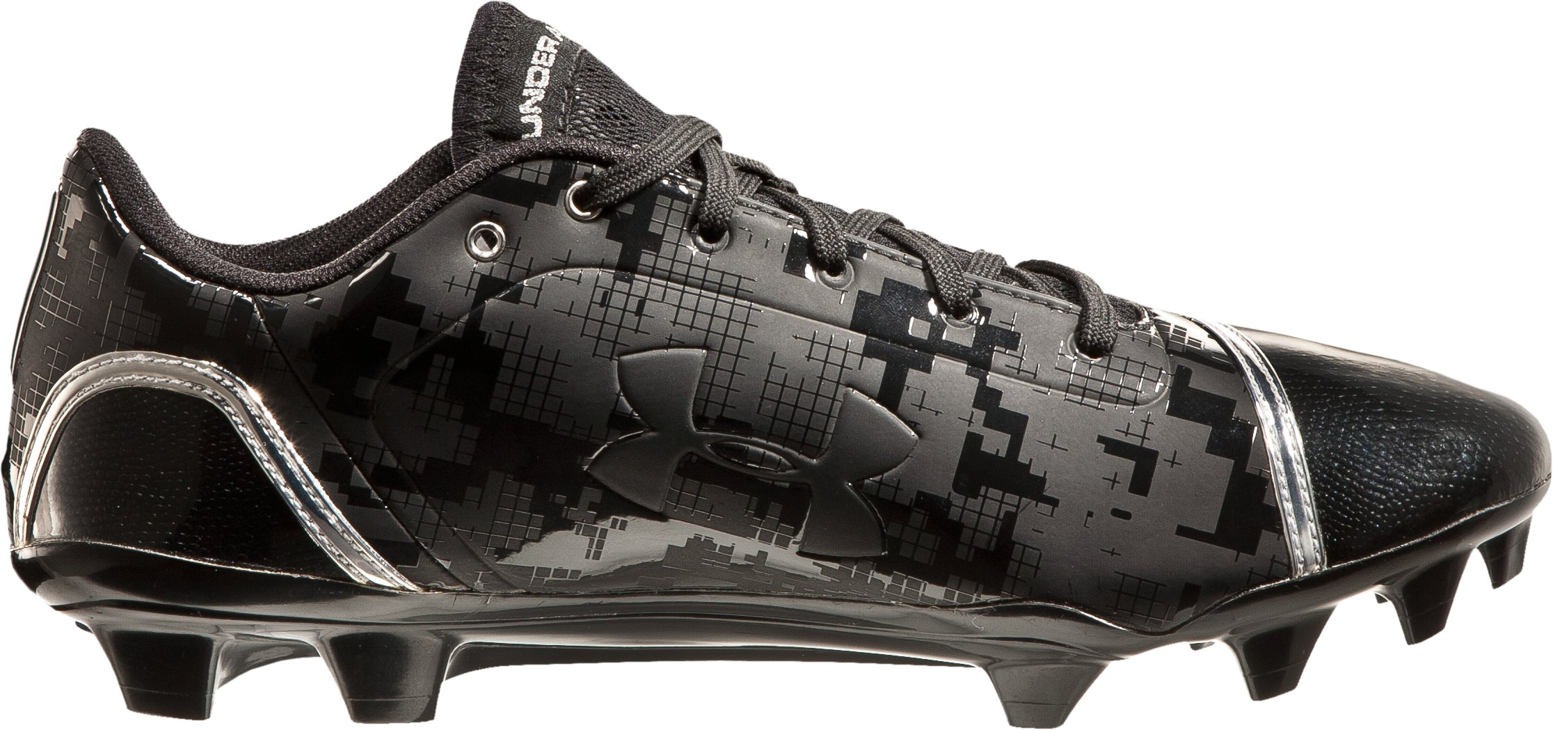 Men's UA Blur Low MC Football Cleats, Black , zoomed image