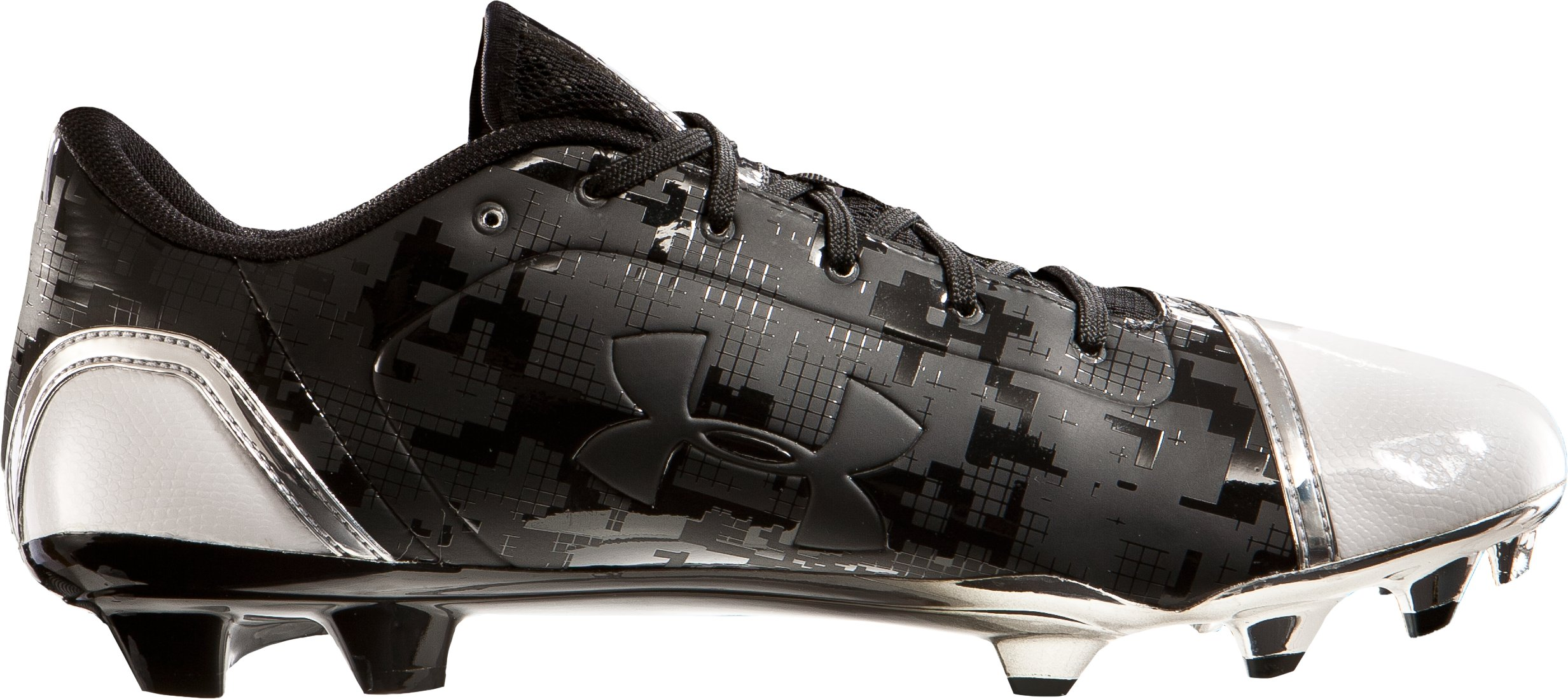 Men's UA Blur Low MC Football Cleats, Black