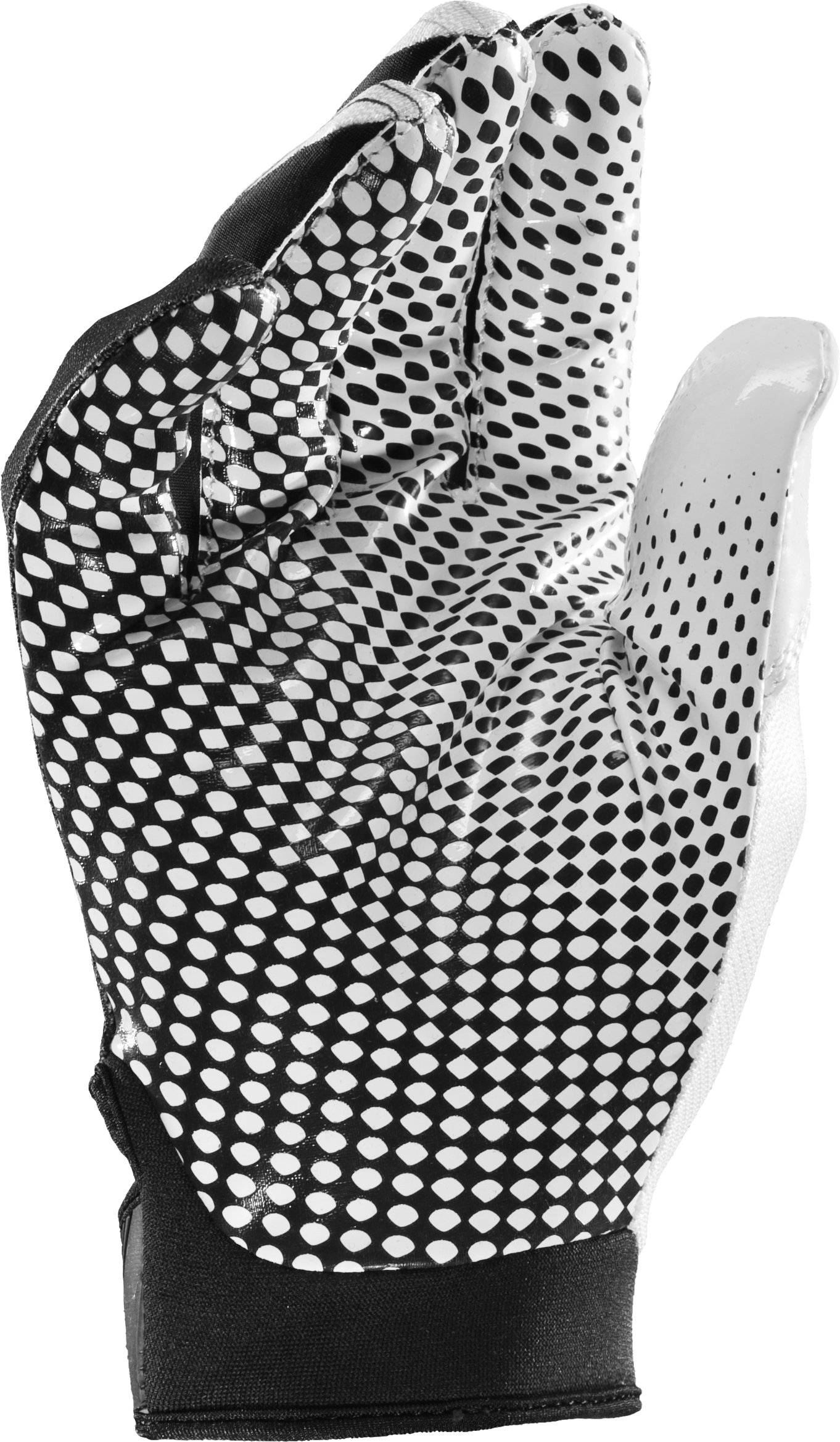 Men's UA Blur II Gloves, White, zoomed image