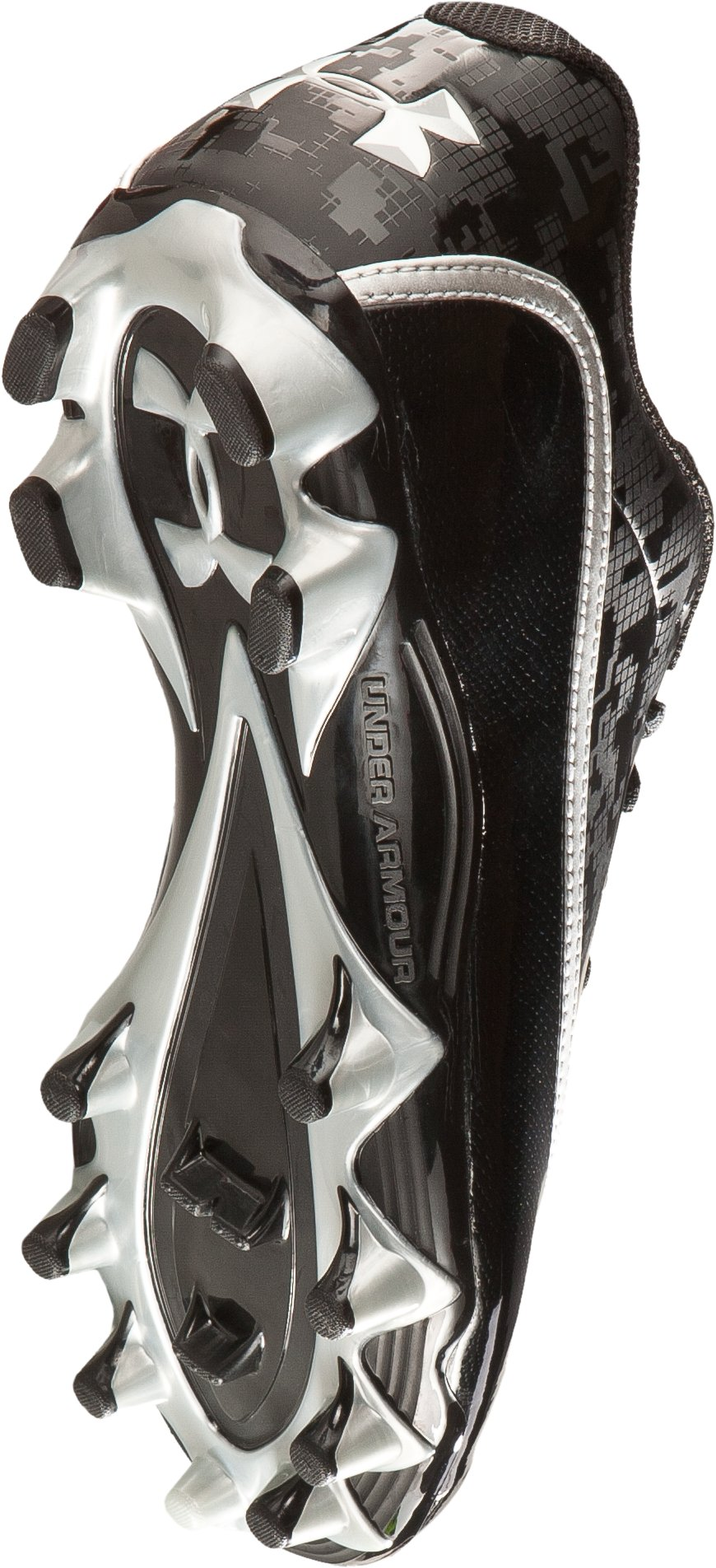 Men's UA Blur Phantom Low D Football Cleats, Black
