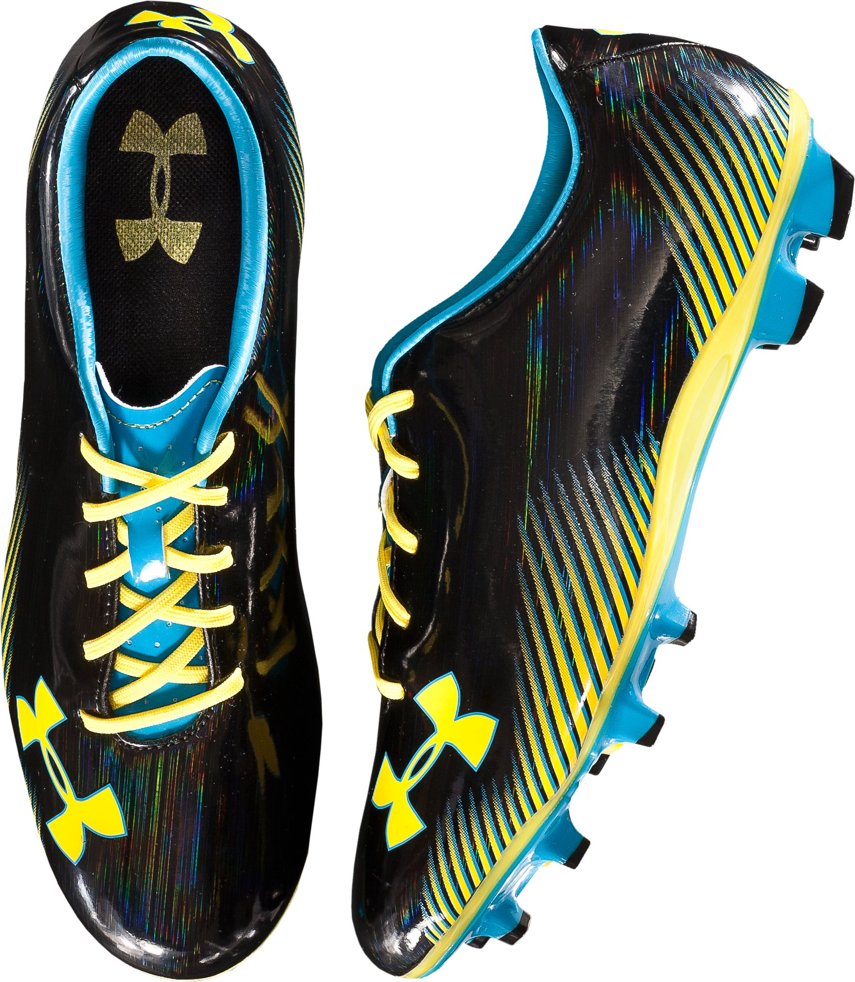Men's UA Blur Challenge II Soccer Cleats, Black