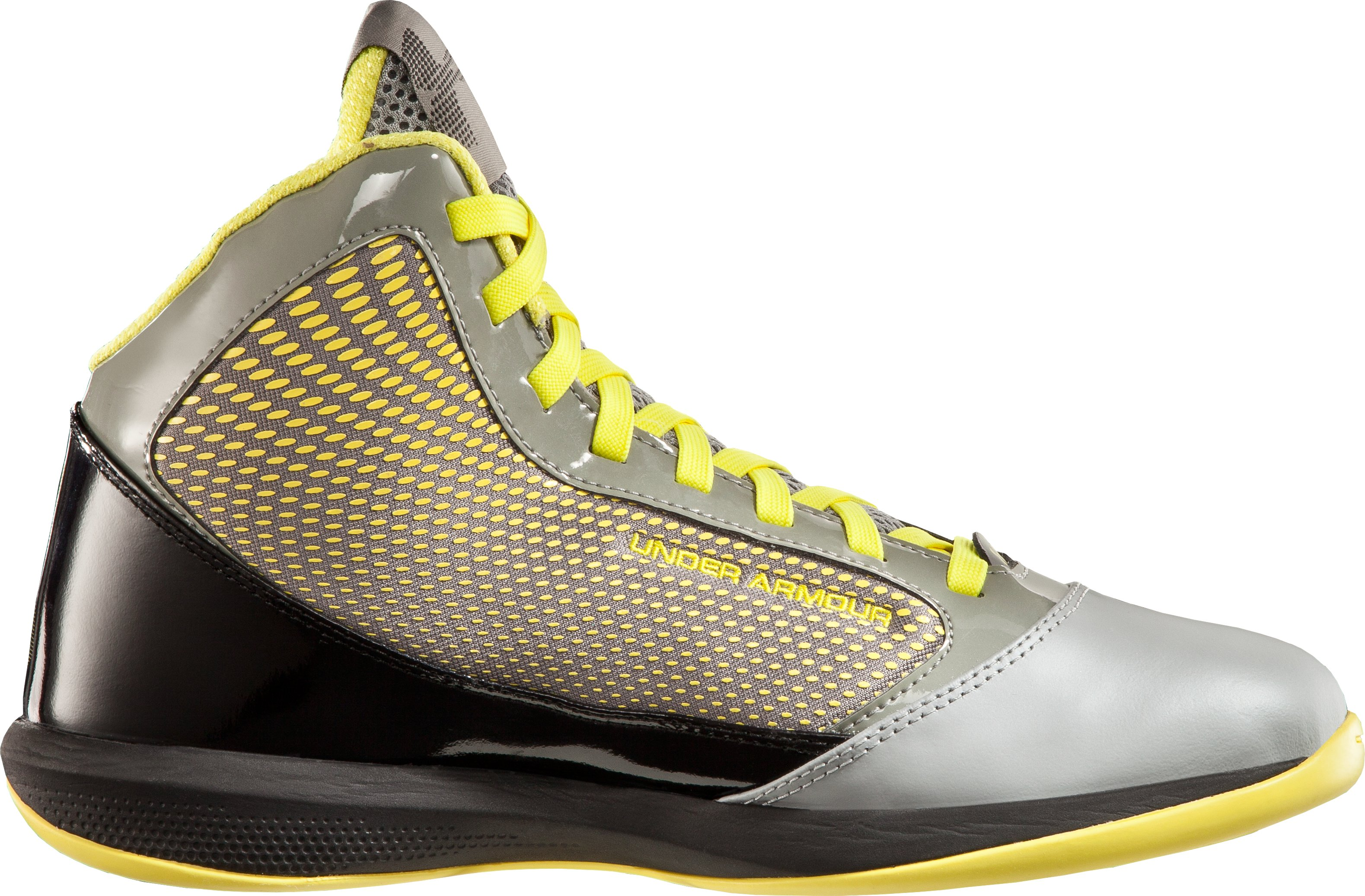 Men's UA Jet Basketball Shoes, Steel