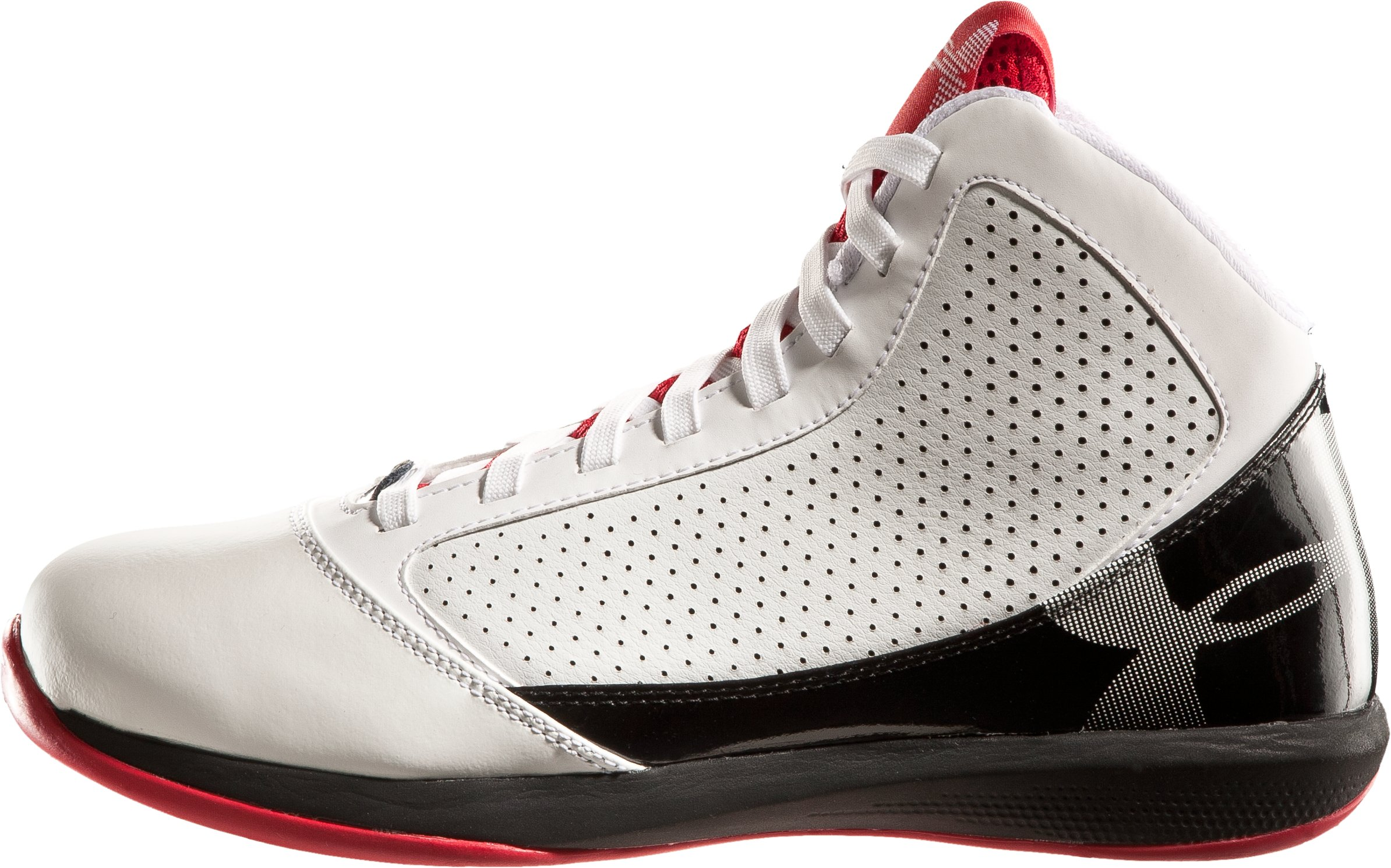 Men's UA Jet Basketball Shoes, White