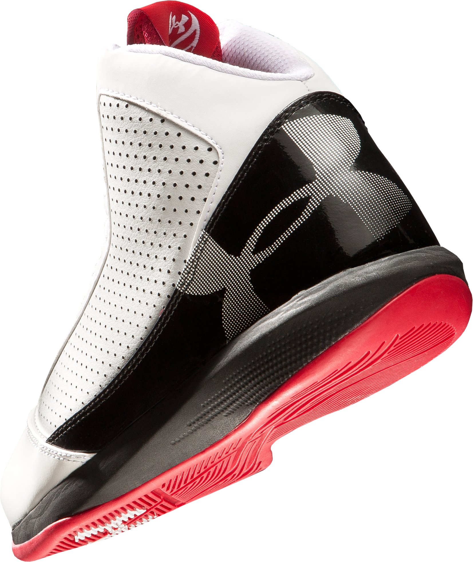 Men's UA Jet Basketball Shoes, White, undefined