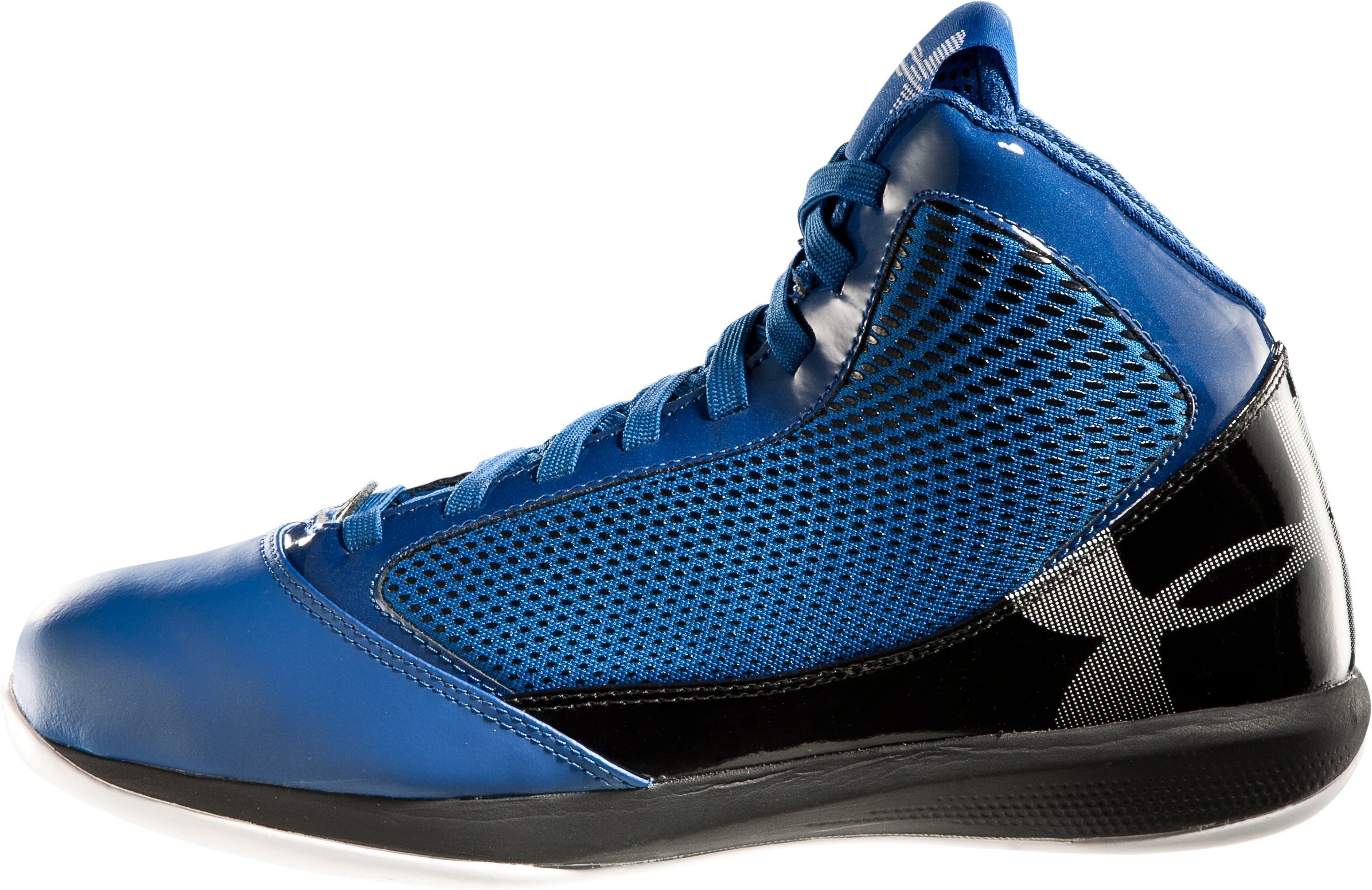 Men's UA Jet Basketball Shoes, Royal