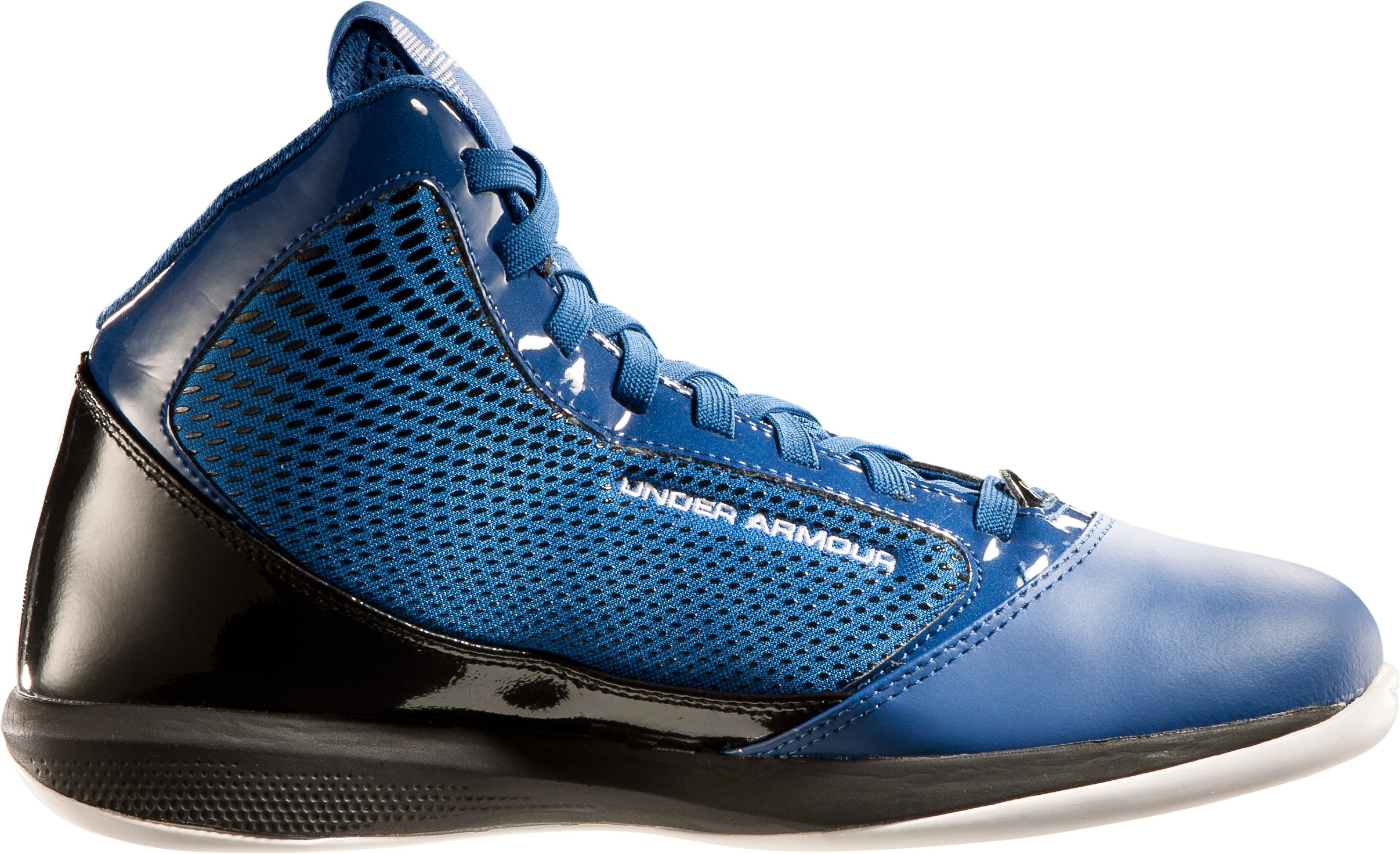 Men's UA Jet Basketball Shoes, Royal, undefined