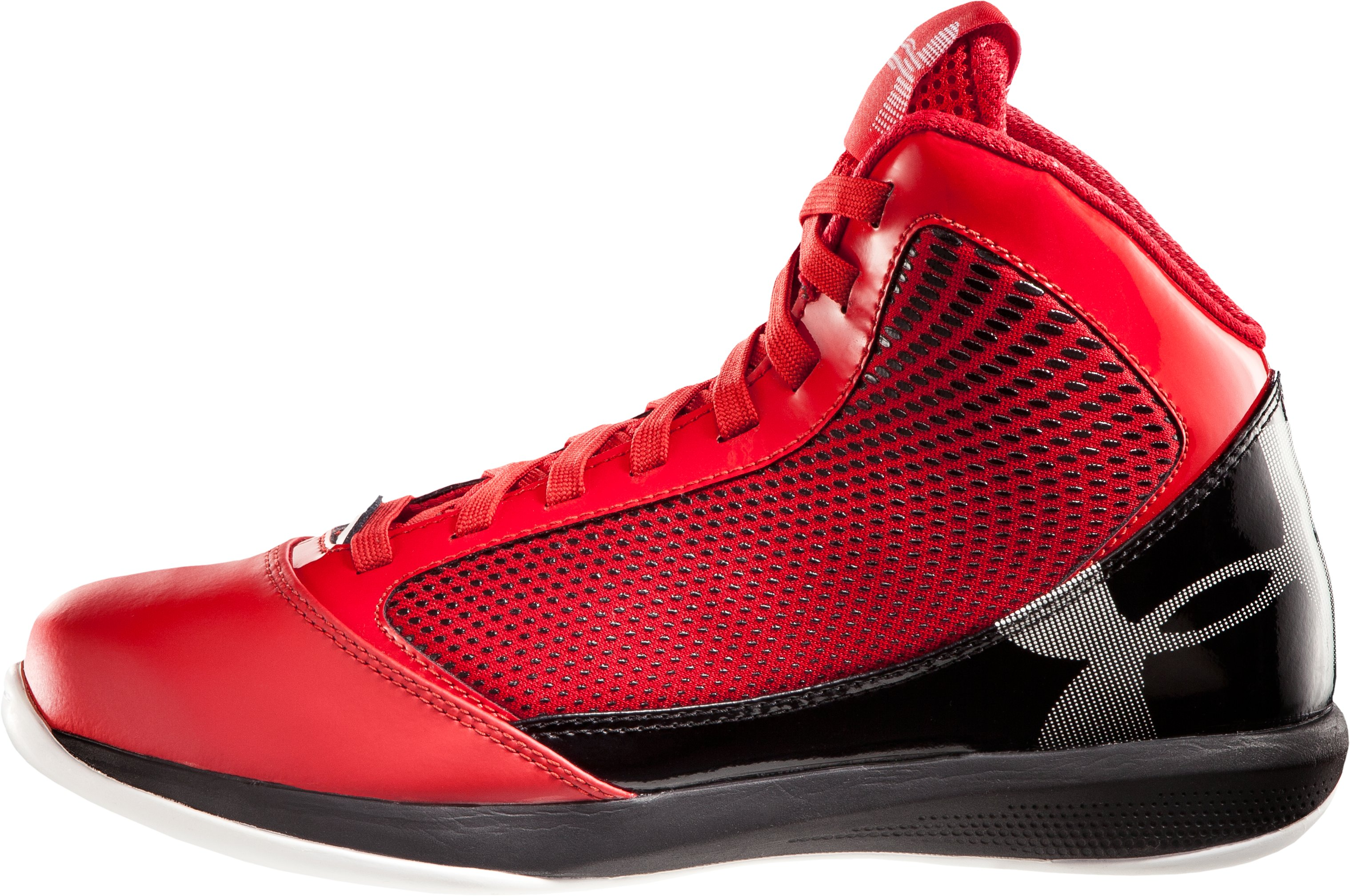 Men's UA Jet Basketball Shoes, Red
