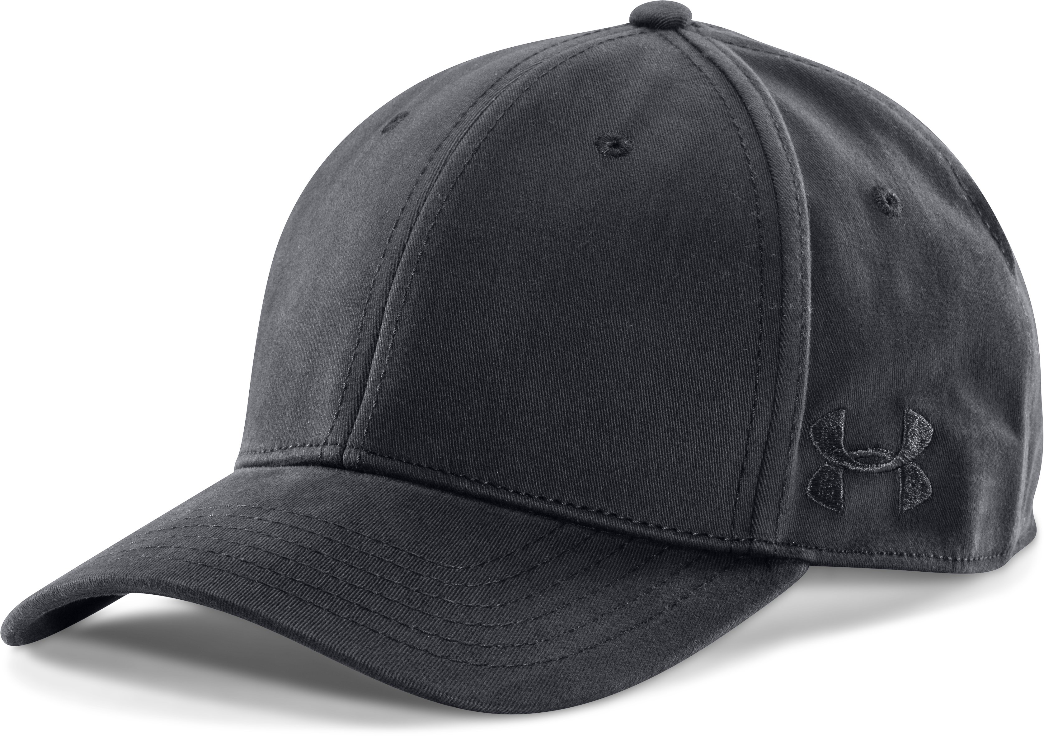 Men's UA Tactical PD Cap, Black , zoomed image