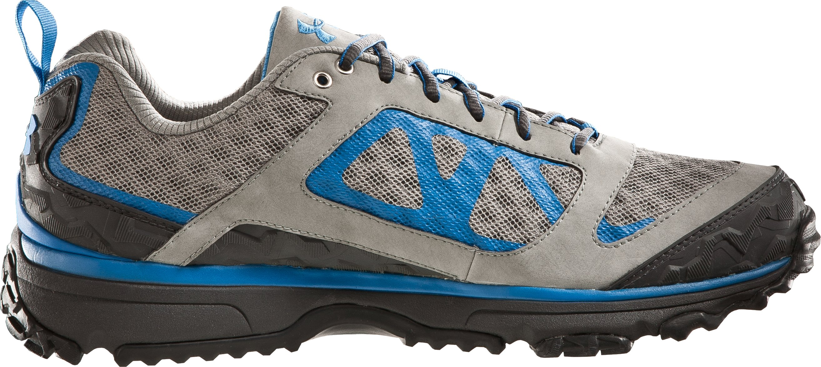 Men's UA Ridge Scan Off Road Trail Shoes, Titanium