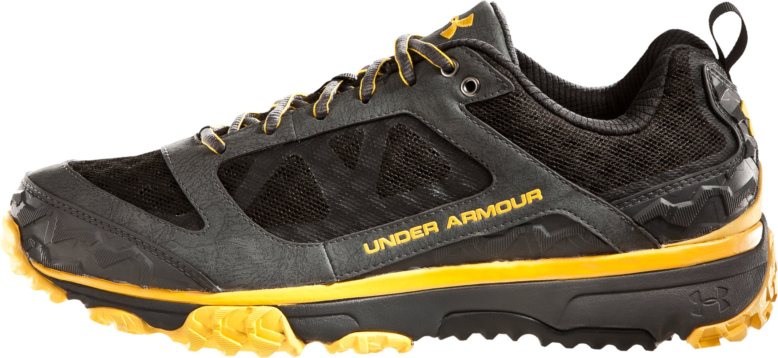 Men's UA Ridge Scan Off Road Trail Shoes, Battleship, zoomed image