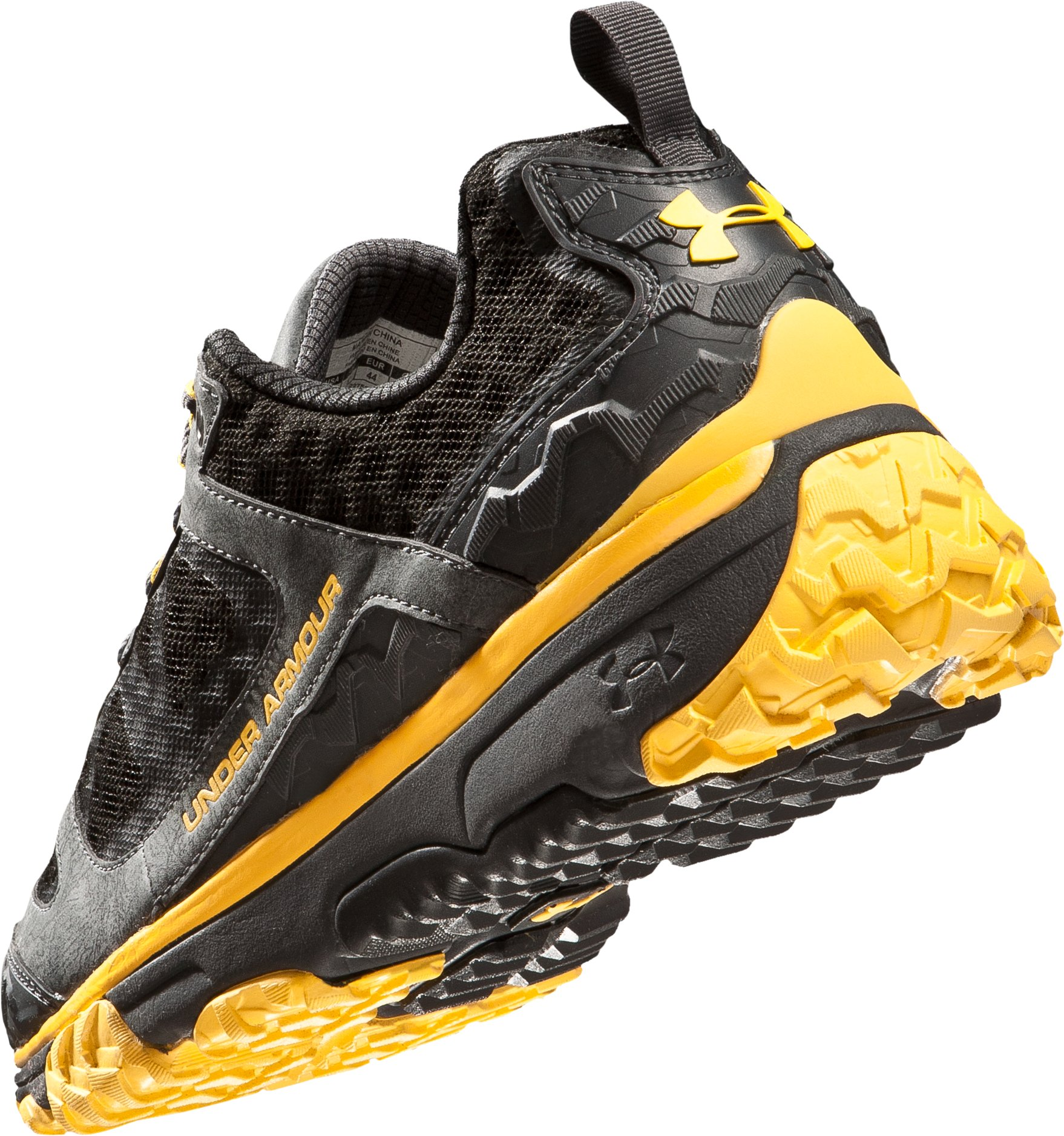 Men's UA Ridge Scan Off Road Trail Shoes, Battleship