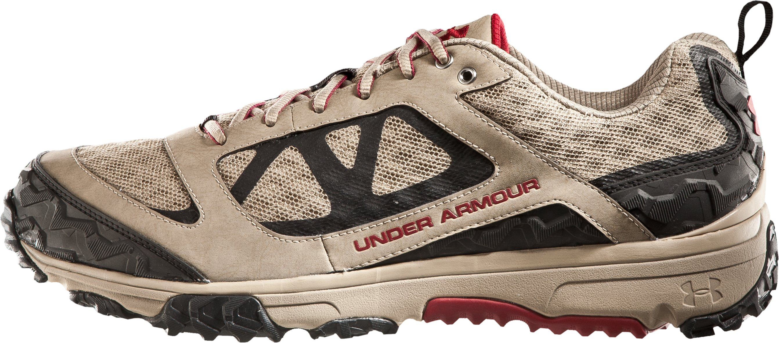 Men's UA Ridge Scan Off Road Trail Shoes, Dune, zoomed image