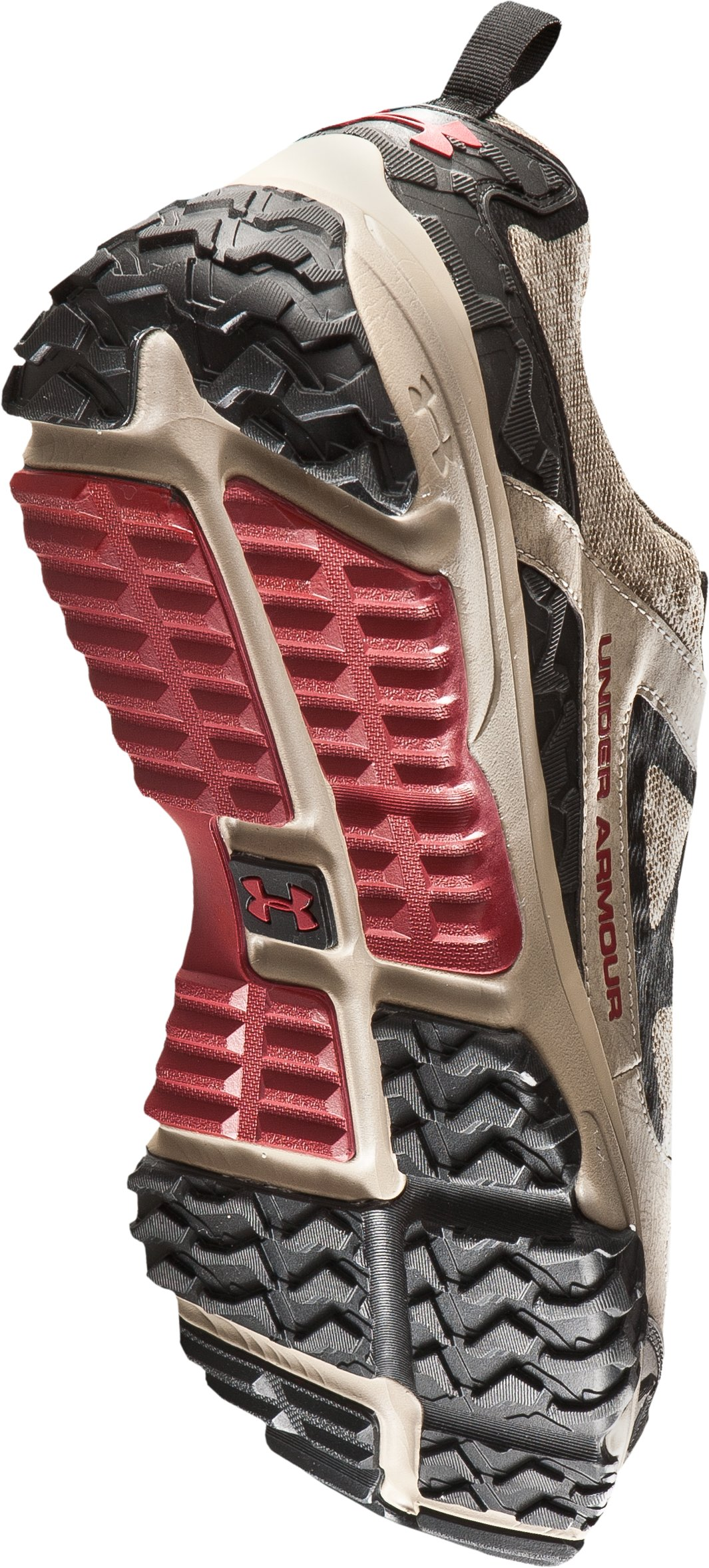 Men's UA Ridge Scan Off Road Trail Shoes, Dune