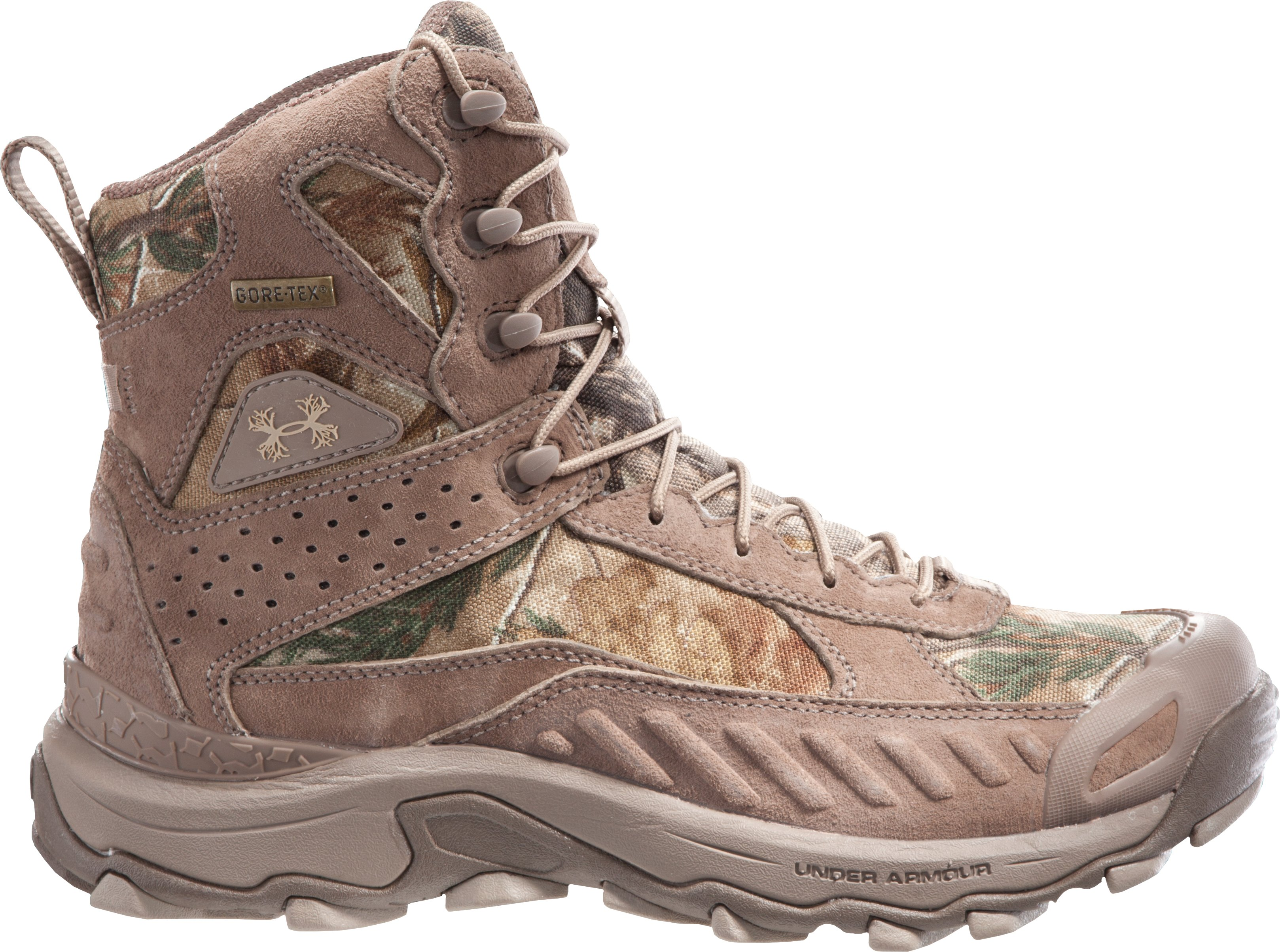 "Men's UA Speed Freek 7"" Boots, Timber, zoomed image"