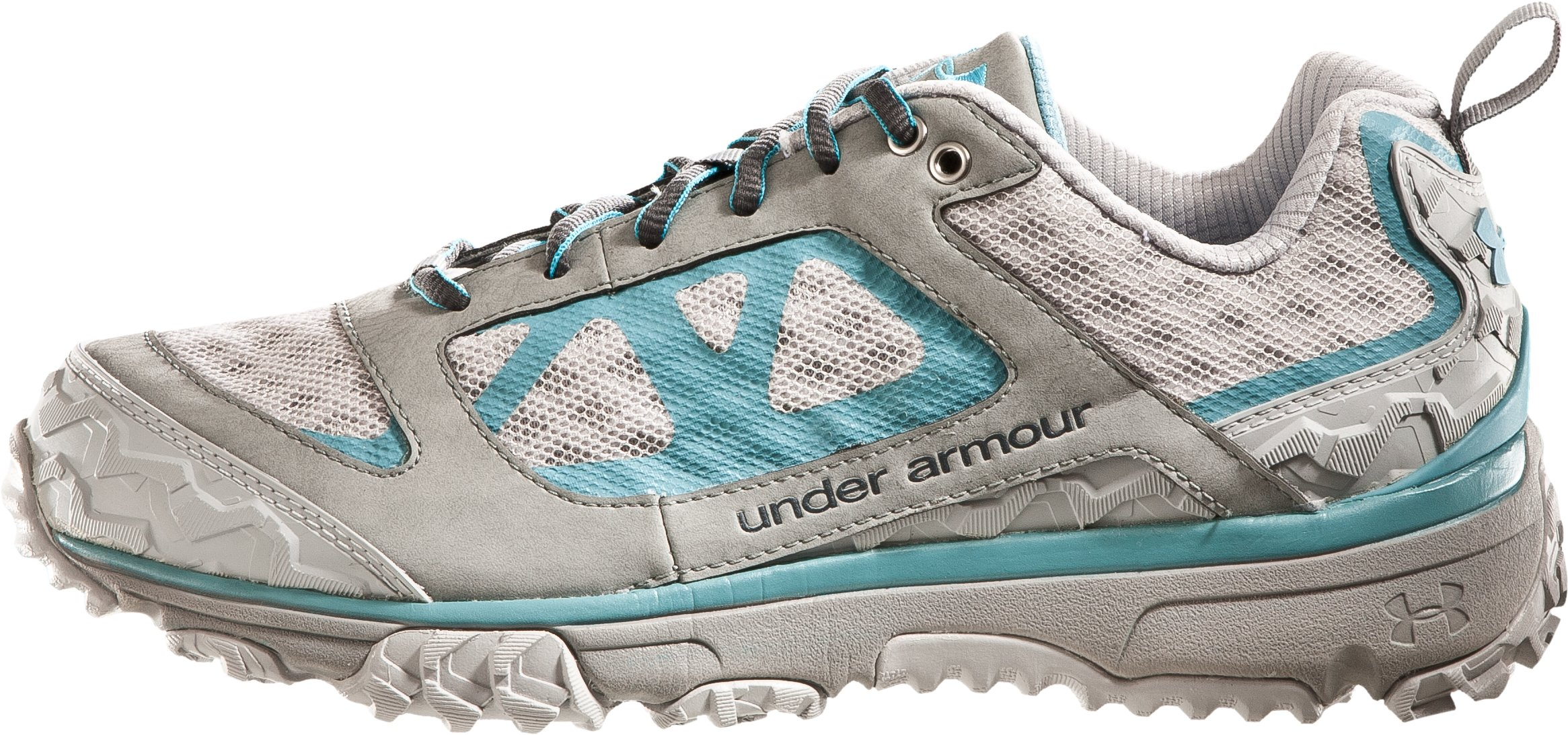 Women's UA Ridge Scan Off Road Trail Shoes, Cosmos