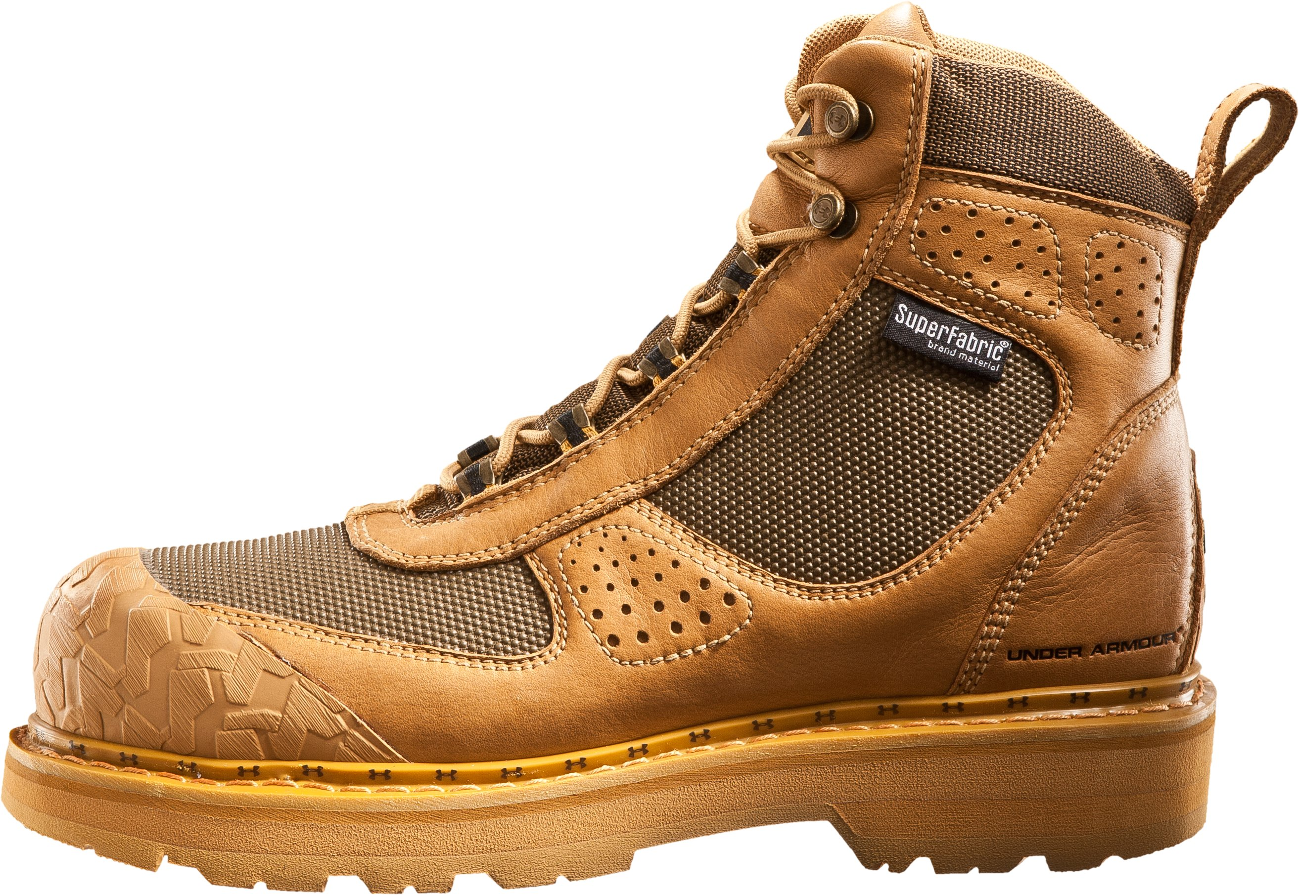"Men's UA Lindig 6"" Boots, Field Tan, zoomed image"