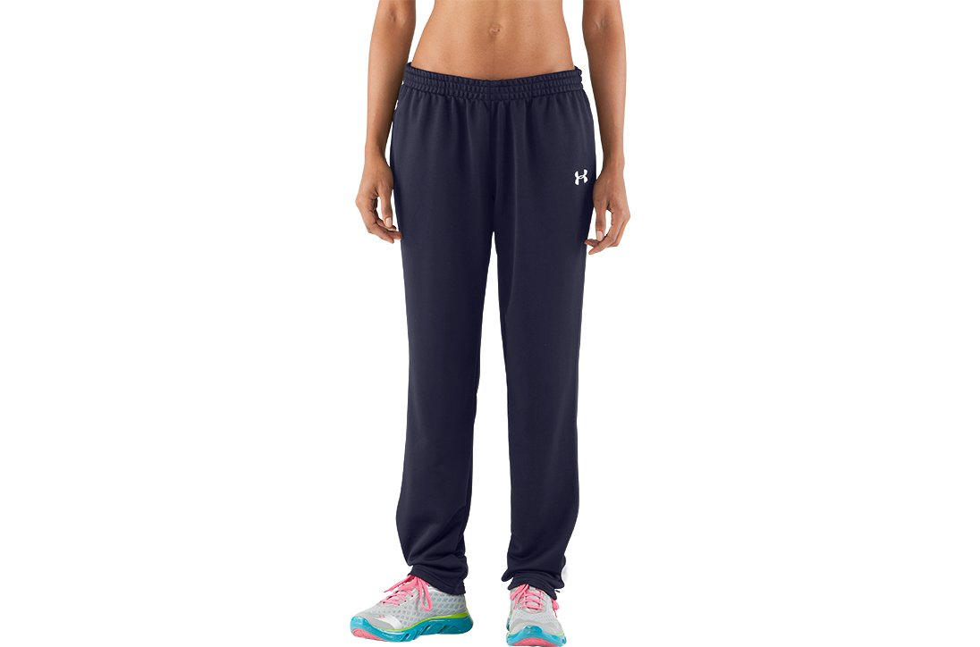 Women's Classic Knit Warm-Up Pants, Midnight Navy