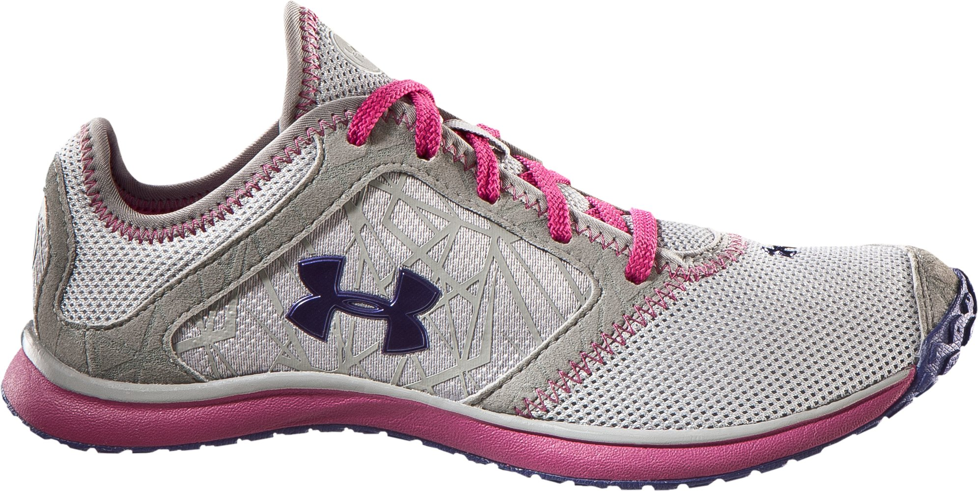 Women's UA Go Running Shoes, Silver, zoomed image