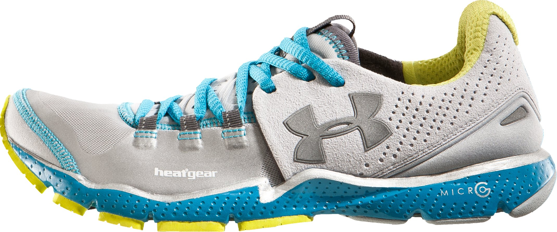 Women's UA Charge RC Running Shoes, Silver, undefined