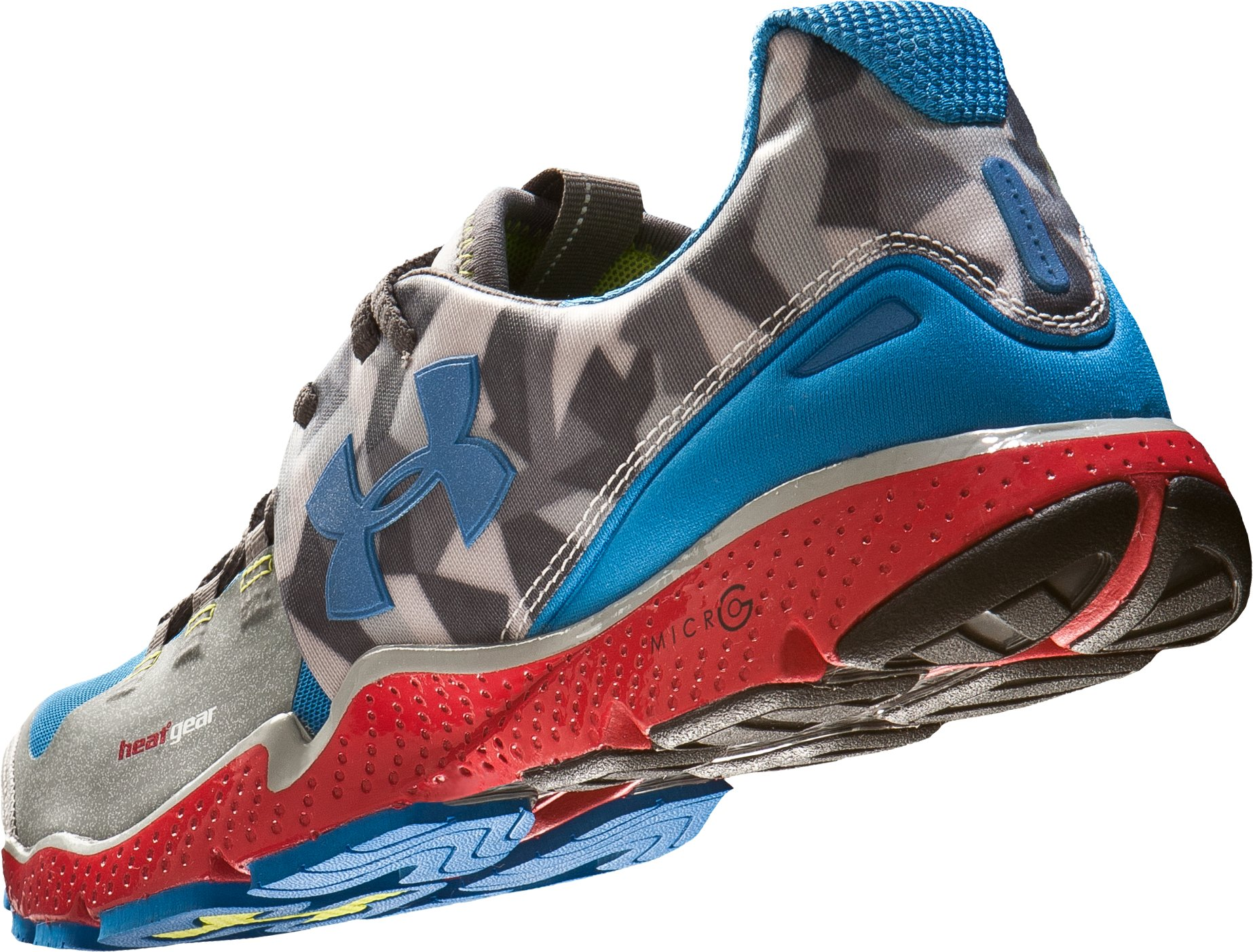 Men's UA Charge RC Running Shoes, Steel