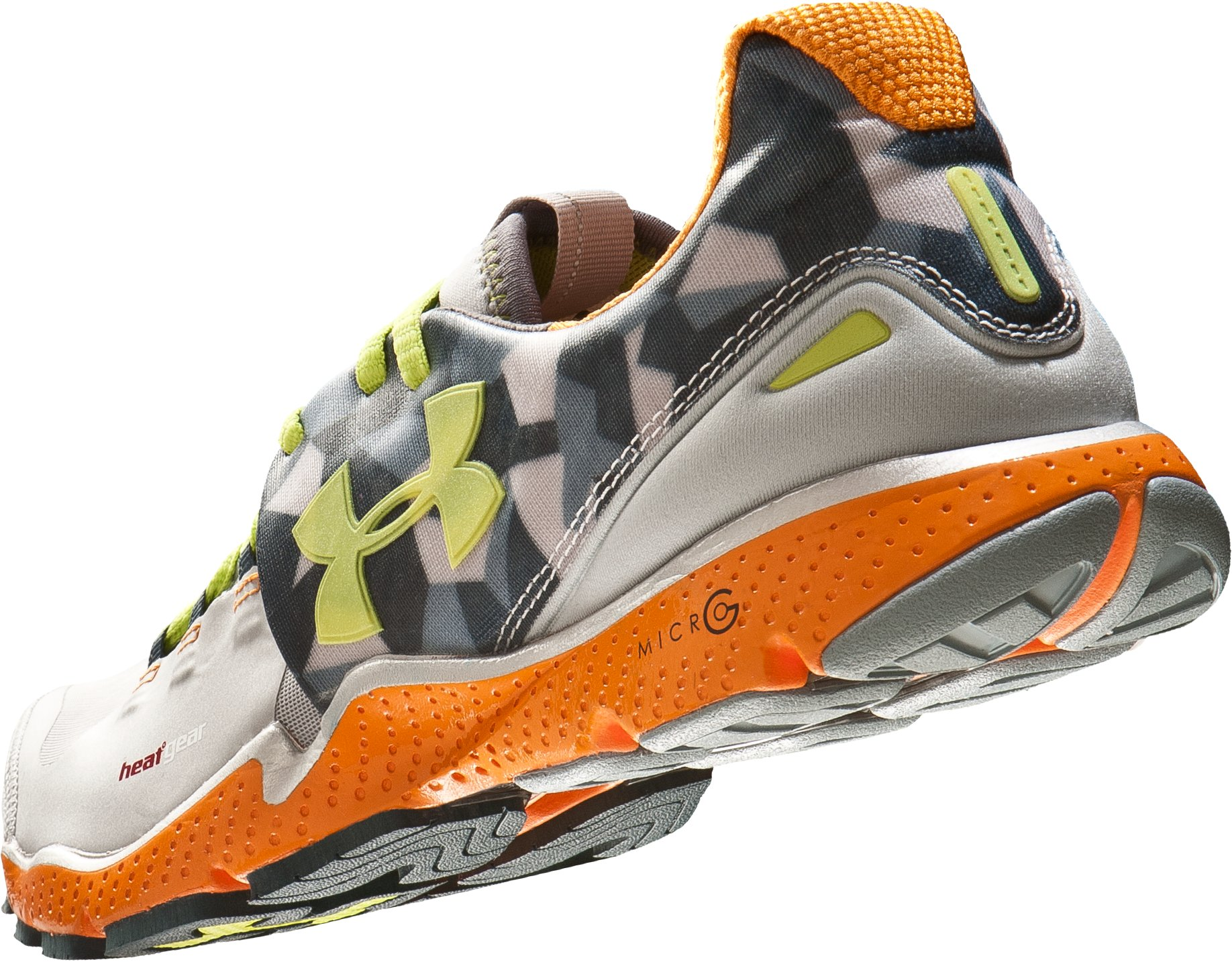 Men's UA Charge RC Running Shoes, Metallic Silver