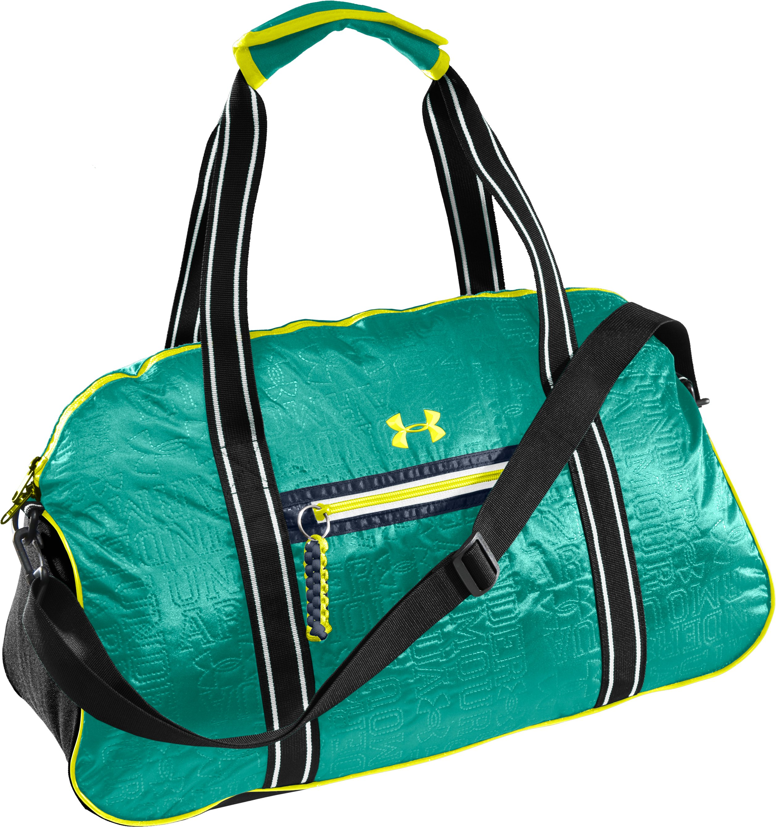 UA Charm City Gym Duffle Bag, Jade River, zoomed image