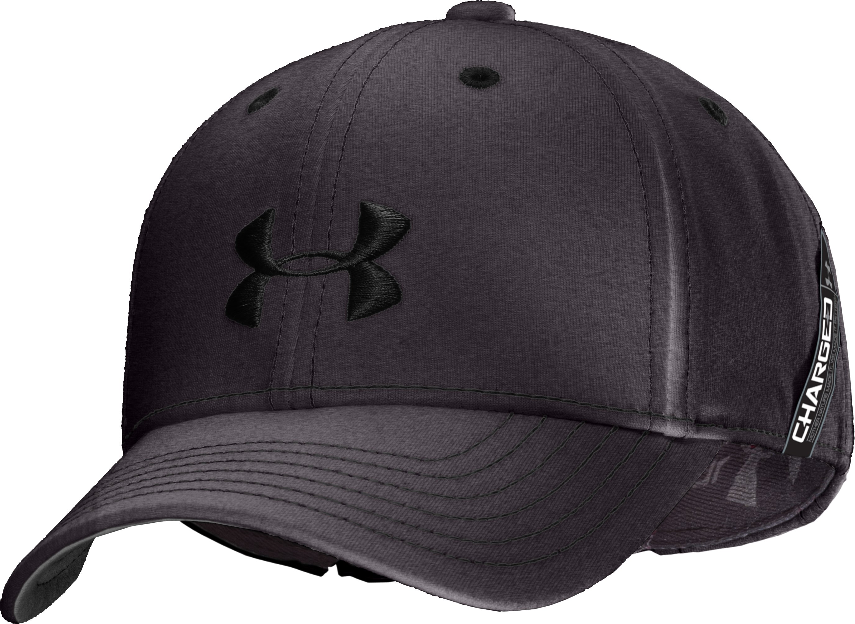 Boys' UA Charged Cotton® Adjustable Fit Cap, Carbon Heather