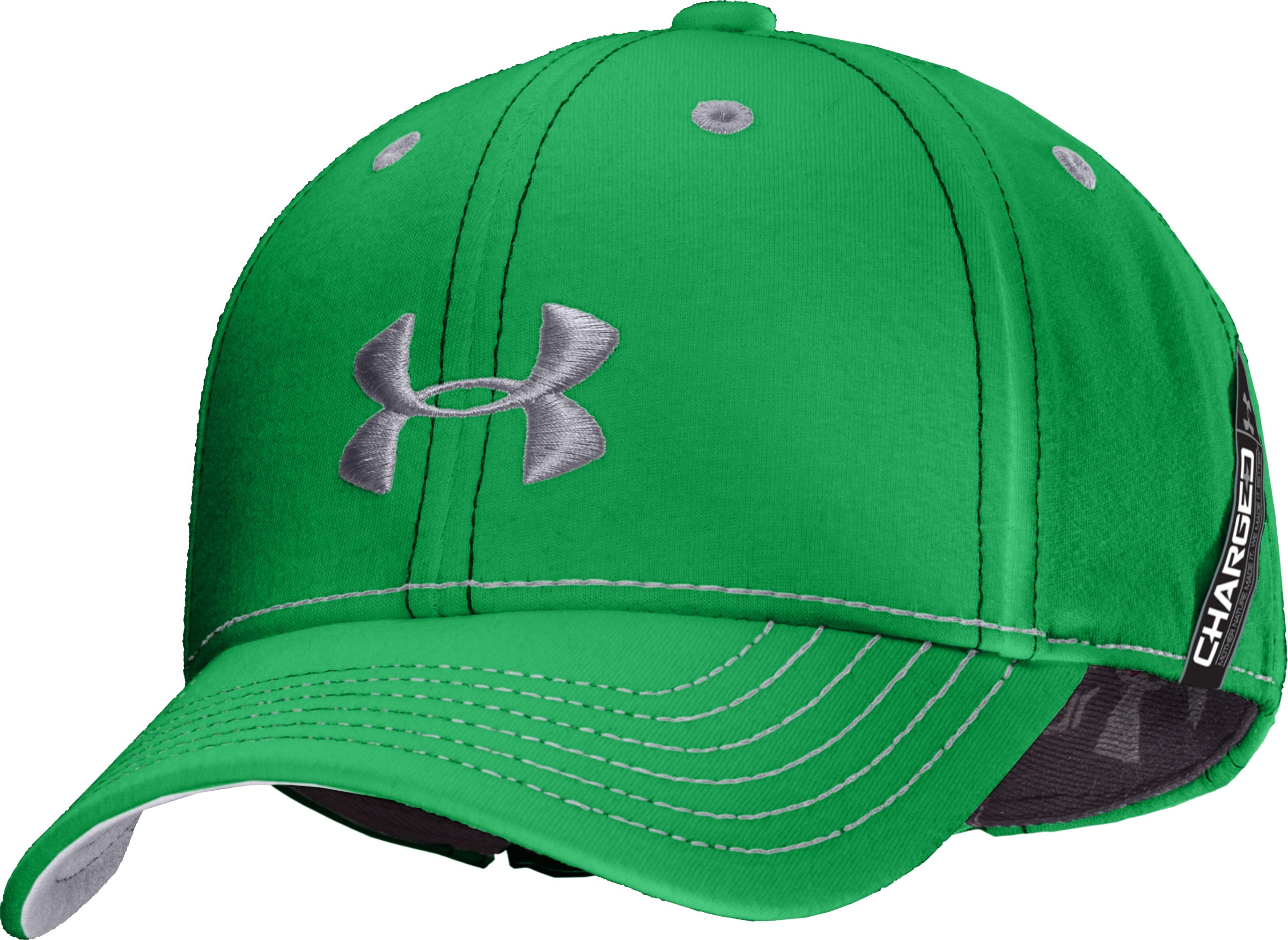 Boys' UA Charged Cotton® Adjustable Fit Cap, Feisty, zoomed image